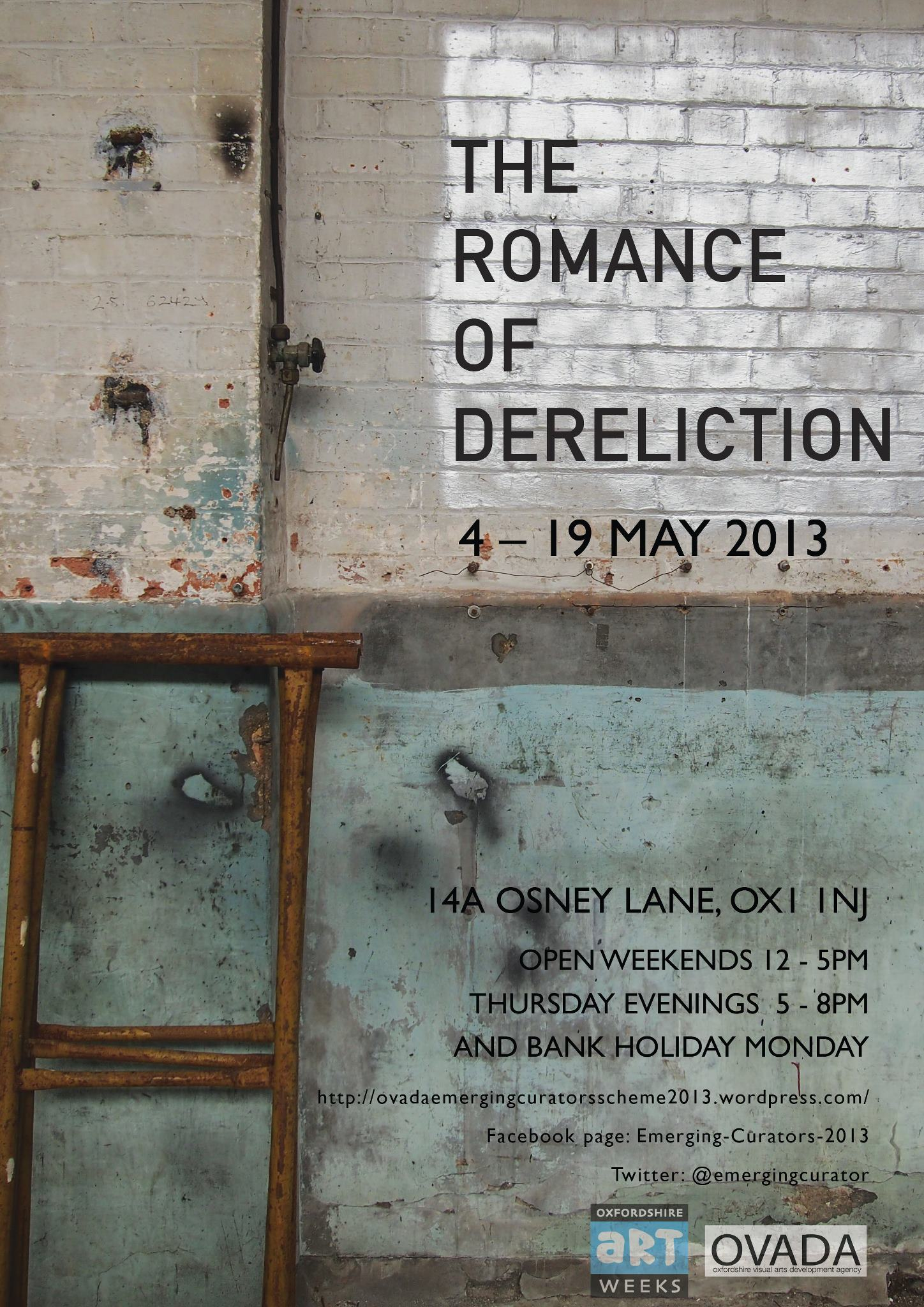 The Romance of Dereliction poster
