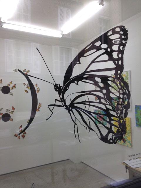Installation, Gleichapel, Paris