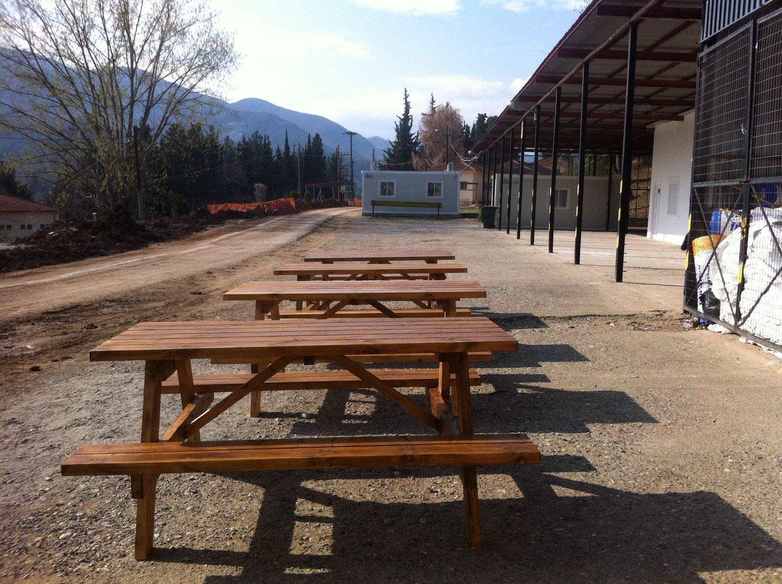 PICNIC BENCHES -