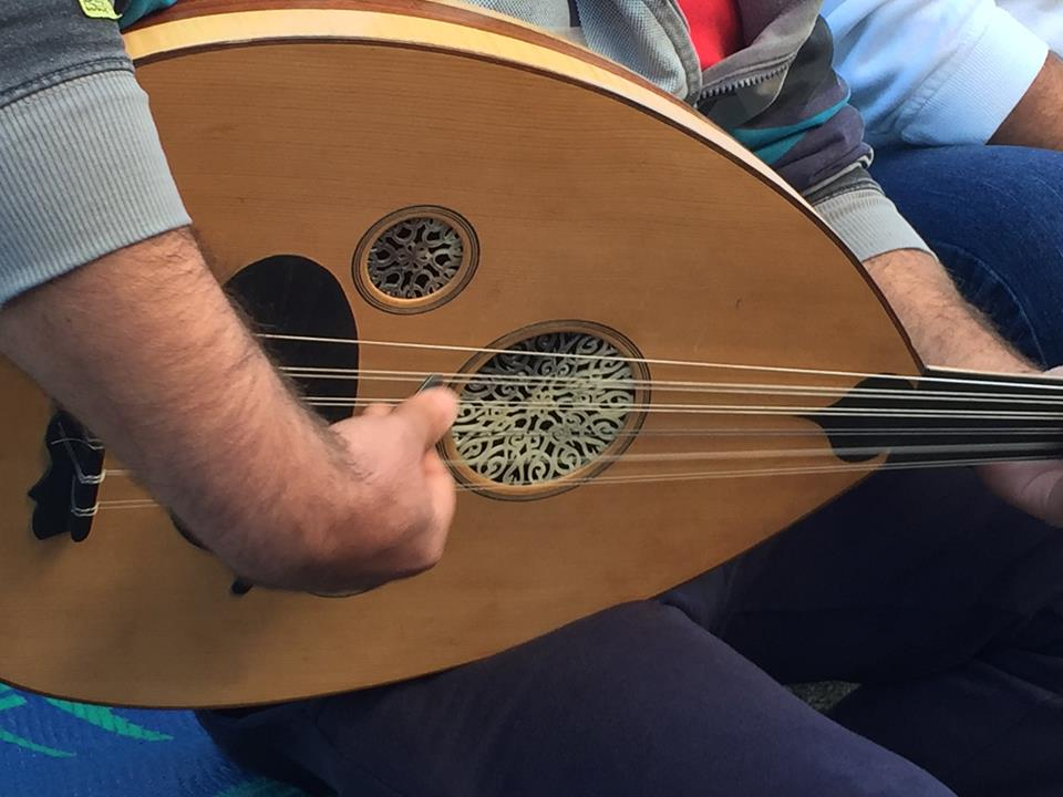 An instrument donated by a generous volunteer - Sam Welticke