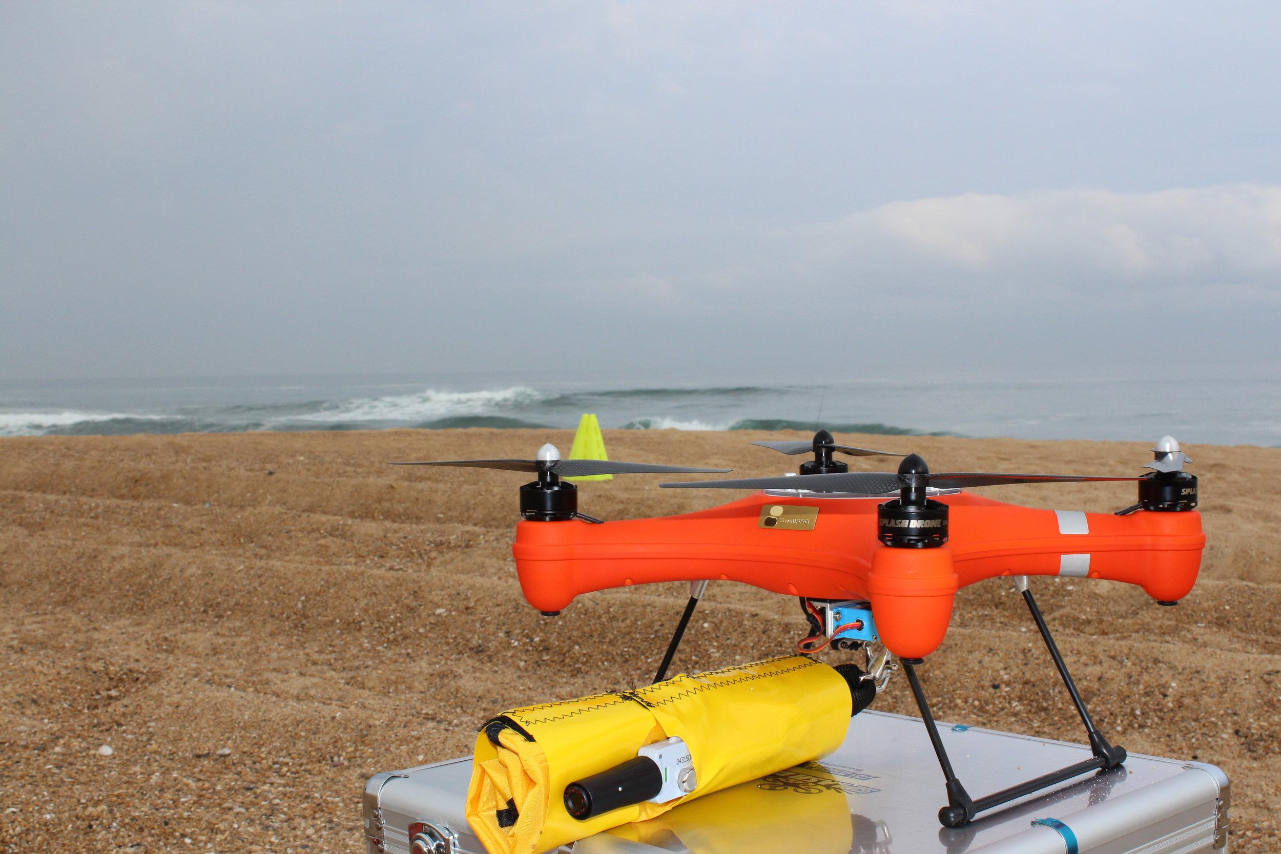 Une bouée drone