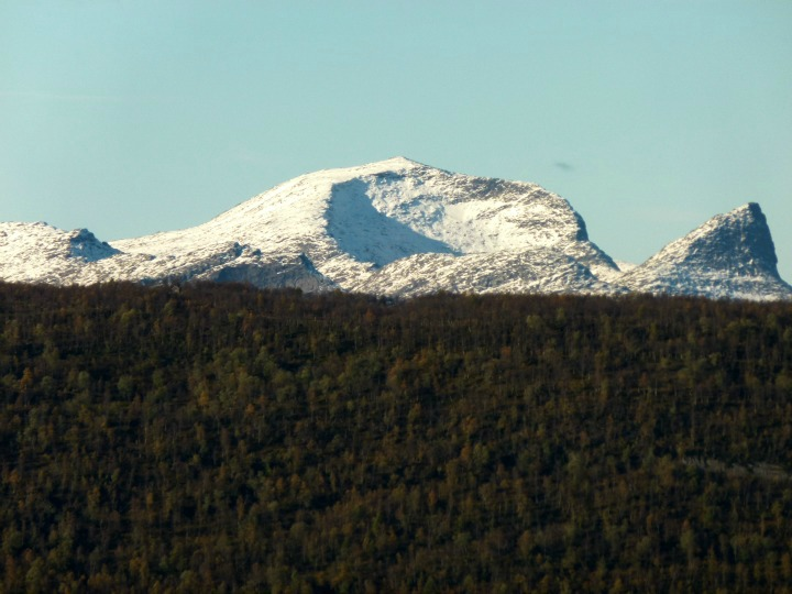 Mountains of Fauske