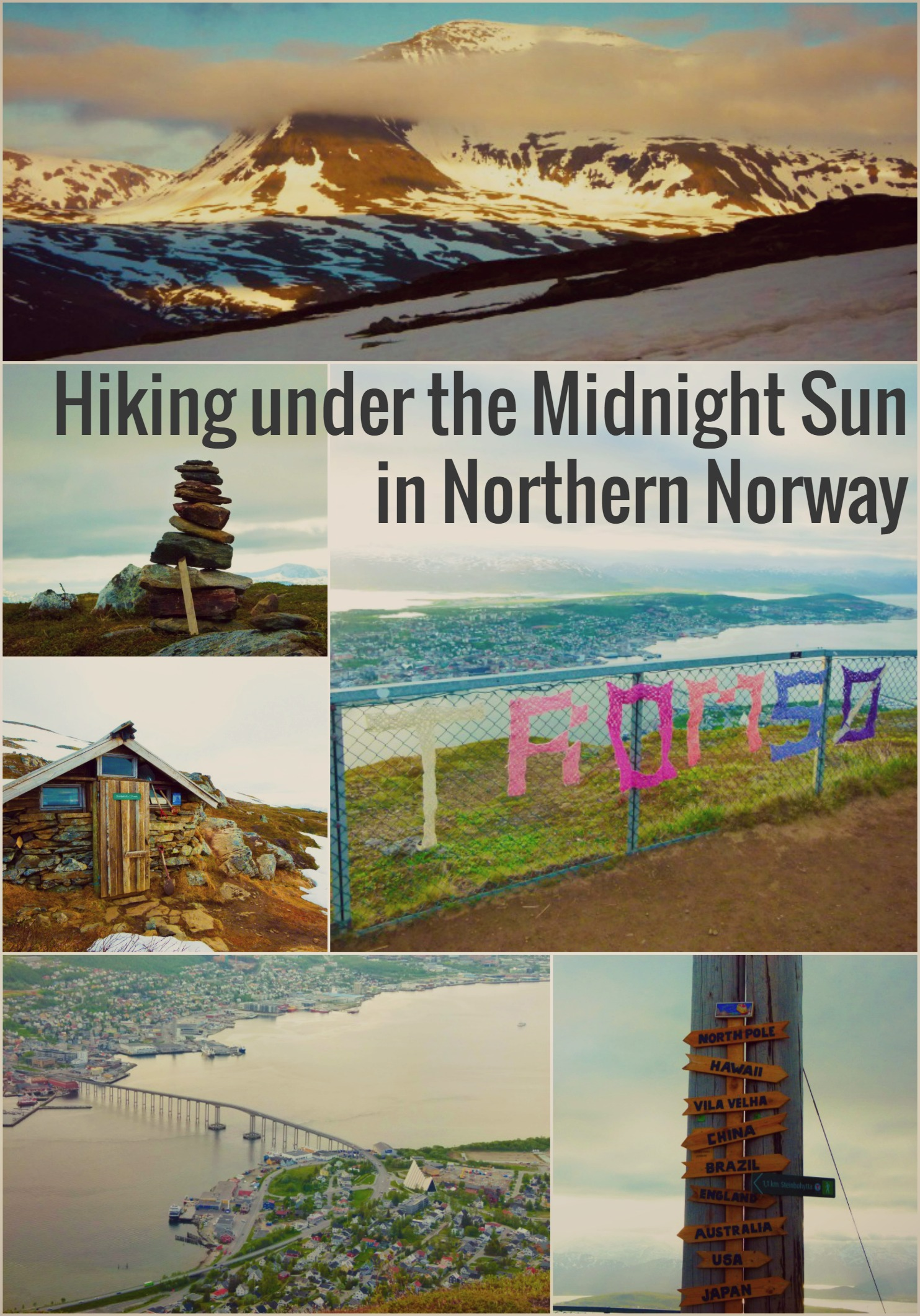Hiking under the Midnight Sun - the dream of many visiting Tromso and Northern Norway. I'm taking you on a tour up Mountain Fjellheisen in Tromso one sunny evening.