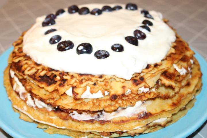 blueberry pancake cakes