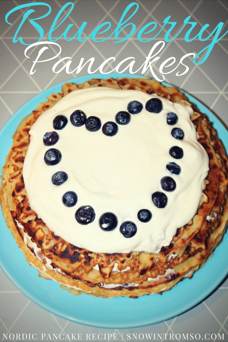 Copy of Recipe for Nordic Blueberry Pancake Cake