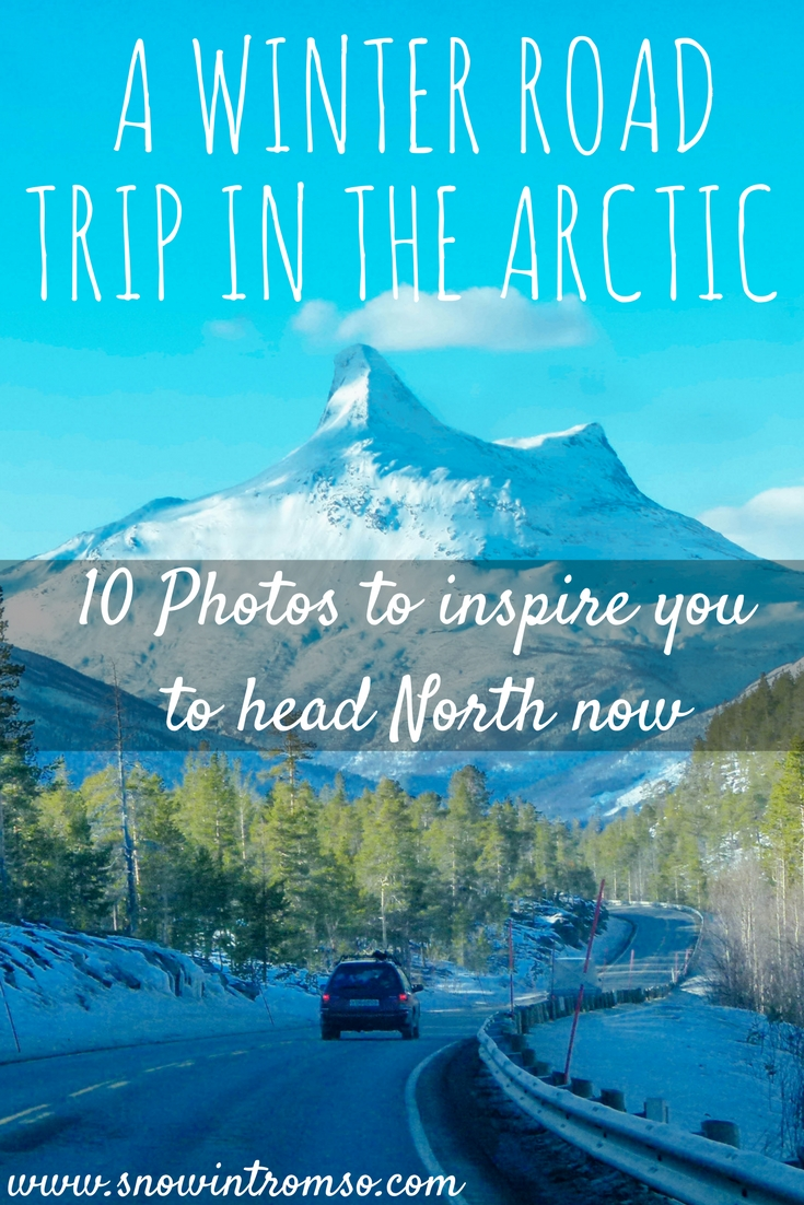 Do you love road trips and winter landscapes? Then click through to find out how a winter road trip on the Arctic Circle can be like!