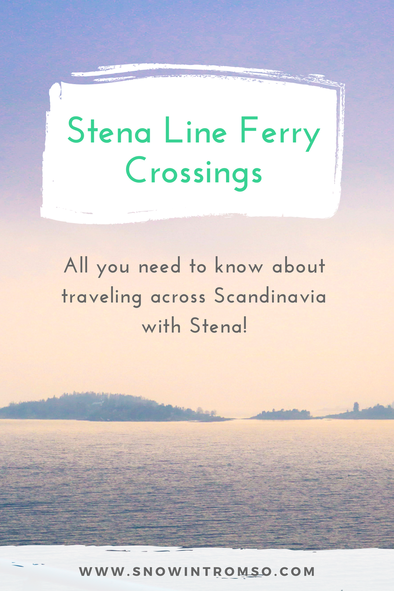 Consider traveling through Scandinavia? Here's why taking the Stena Line ferry is one of the cheapest and easiest, as well as most scenic options!