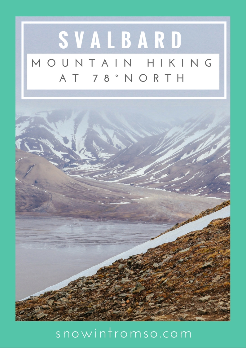 Do you enjoy mountain hiking and would love to visit the High Arctic one day? Click through to read about my experience hiking in the mountains of Longyearbyen, Svalbard!