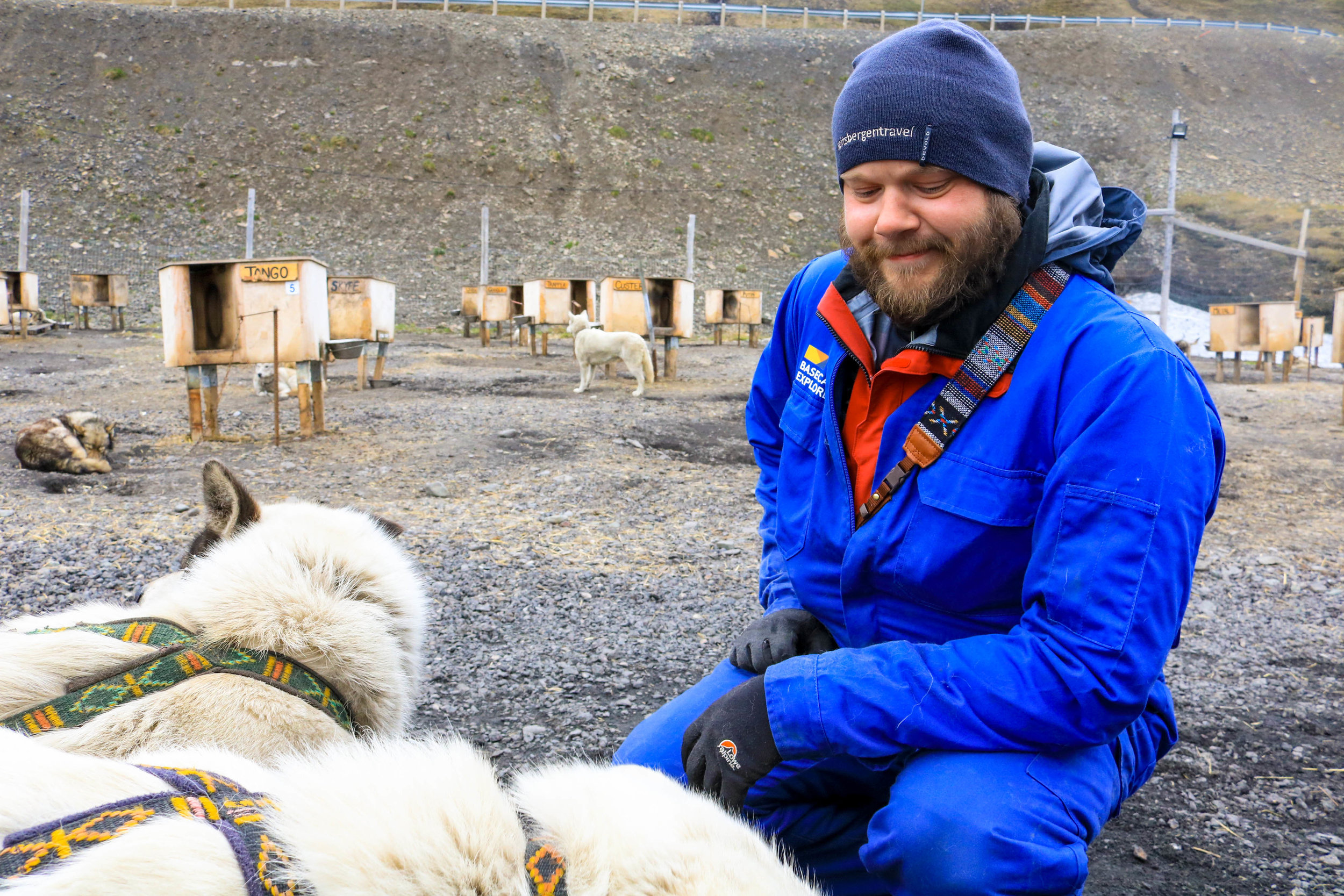 summer dog-sledding svalbard basecamp explorer
