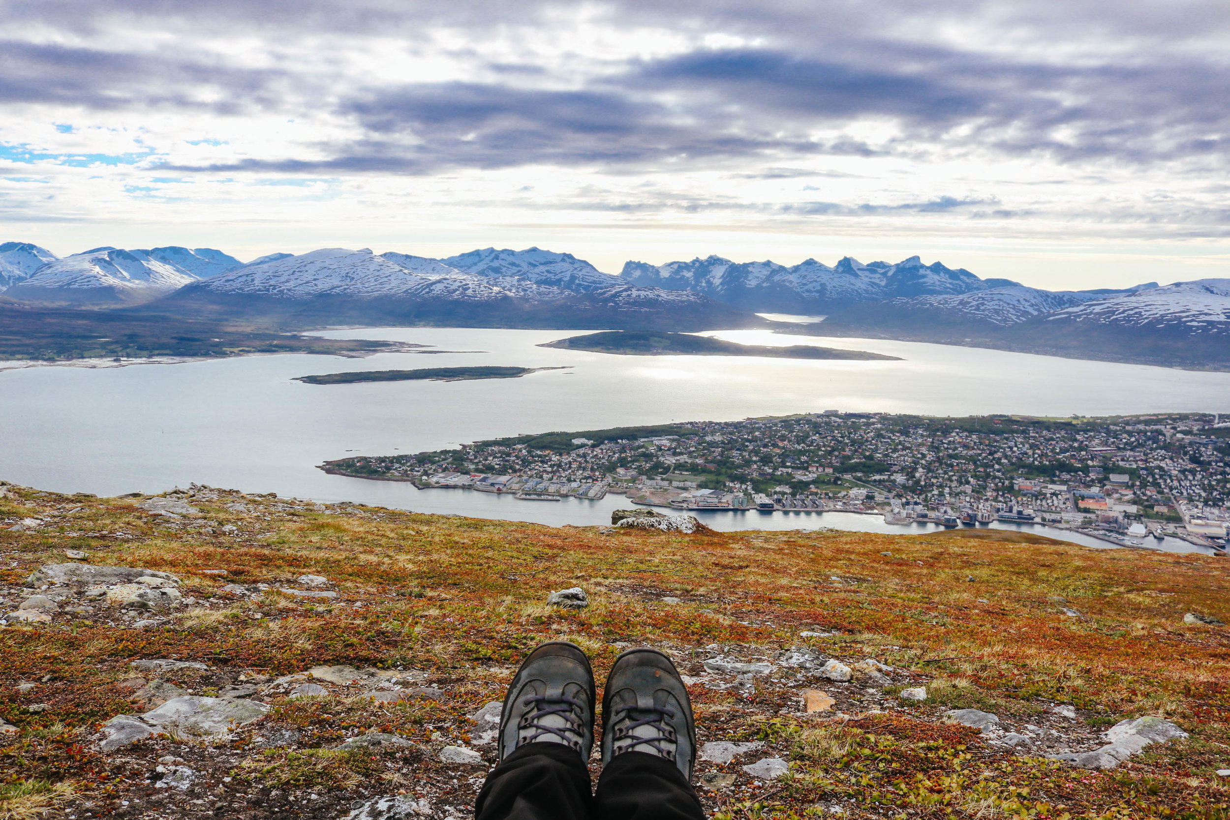 things I couldn't live without in Norway HANWAG hiking boots