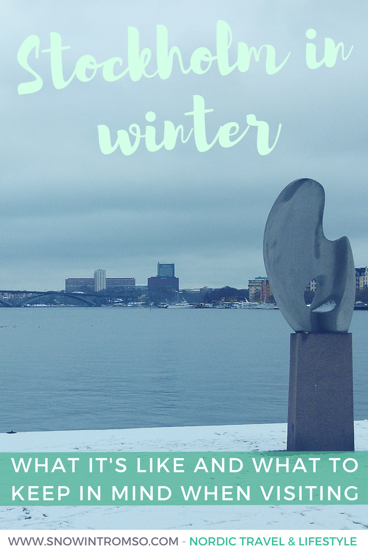 Planning a trip to Stockholm in winter? This is what it's like!
