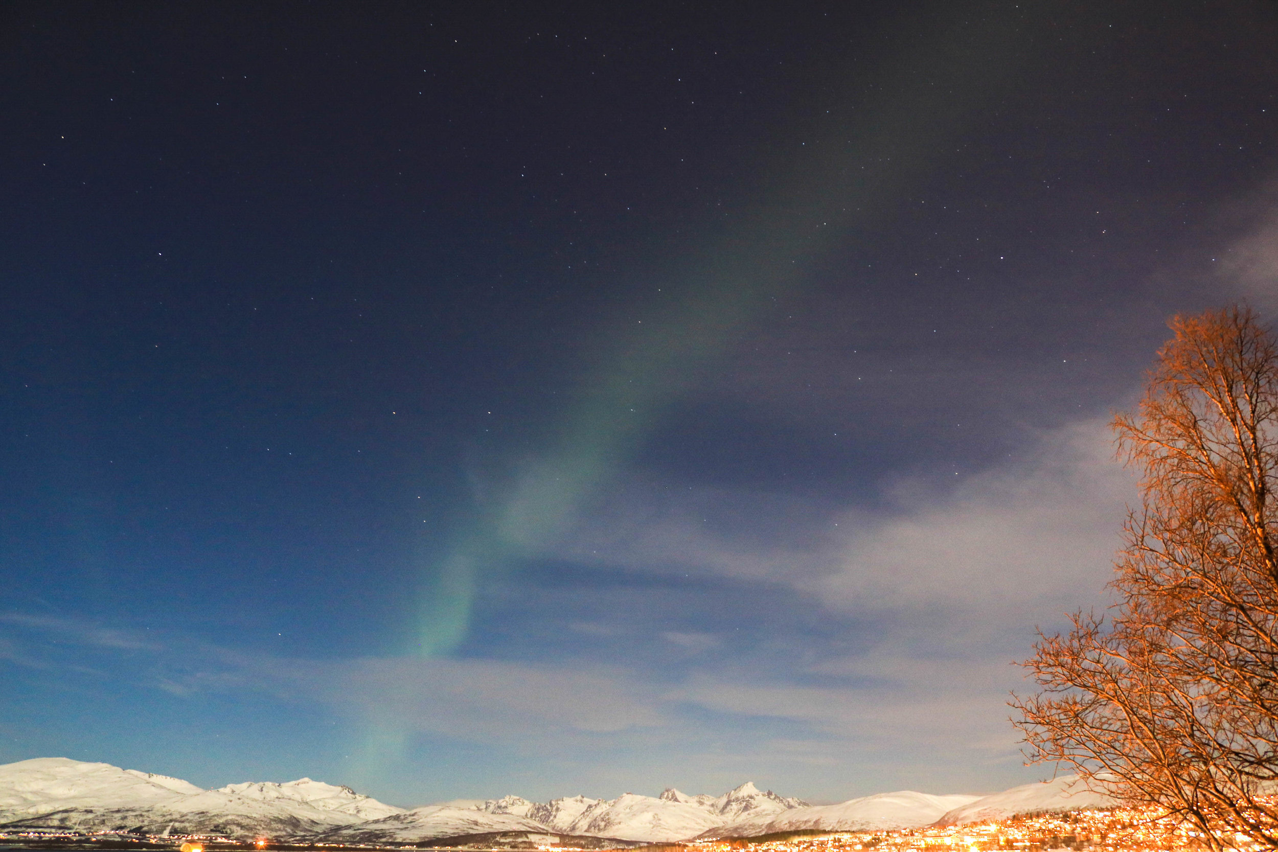 visit tromso northern norway during polar night
