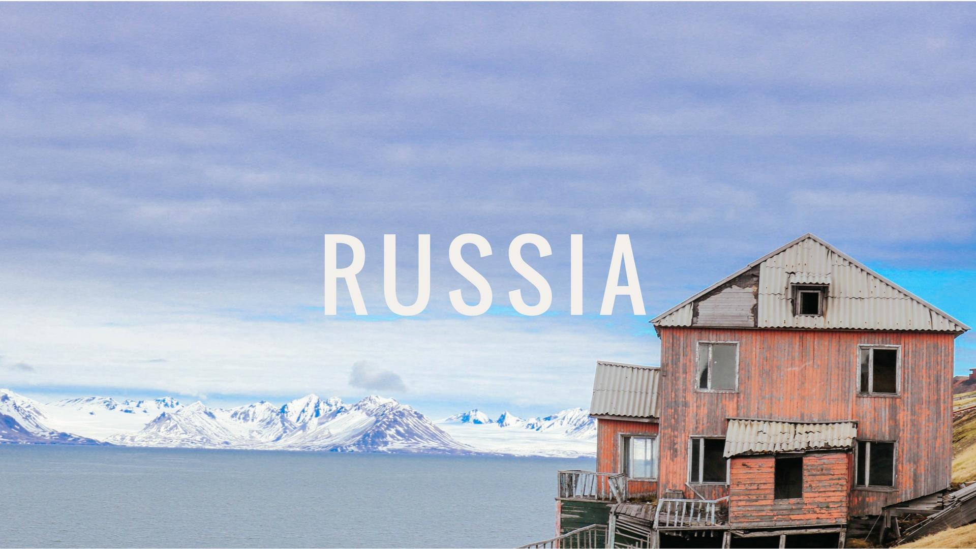Russia Snow in Tromso
