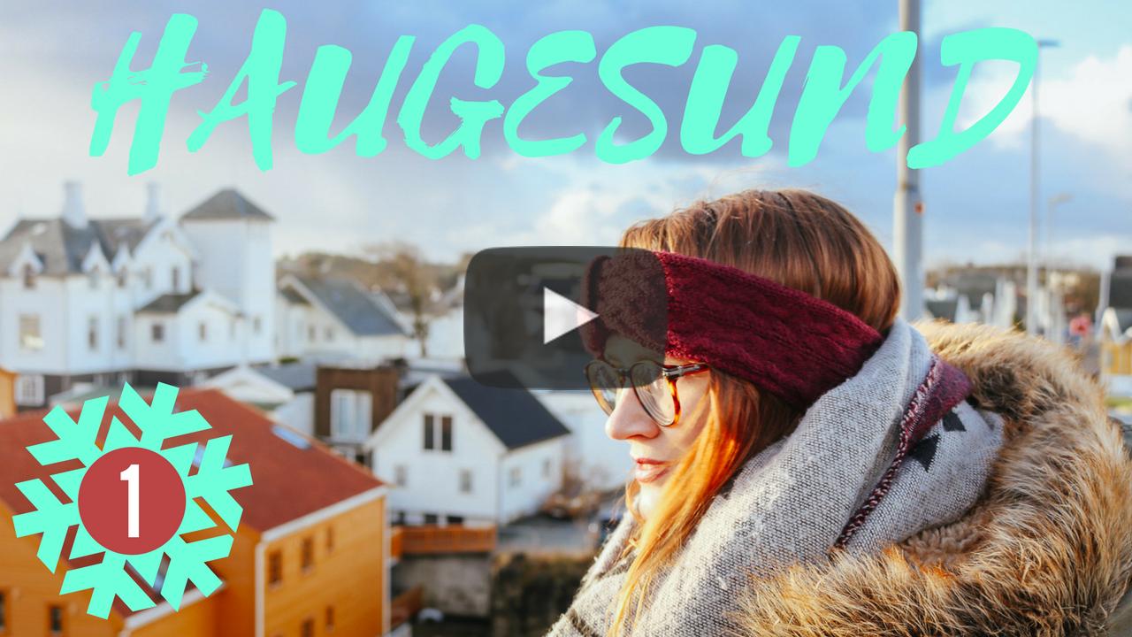 Follow me around Christmassy Haugesund on my YouTube channel here