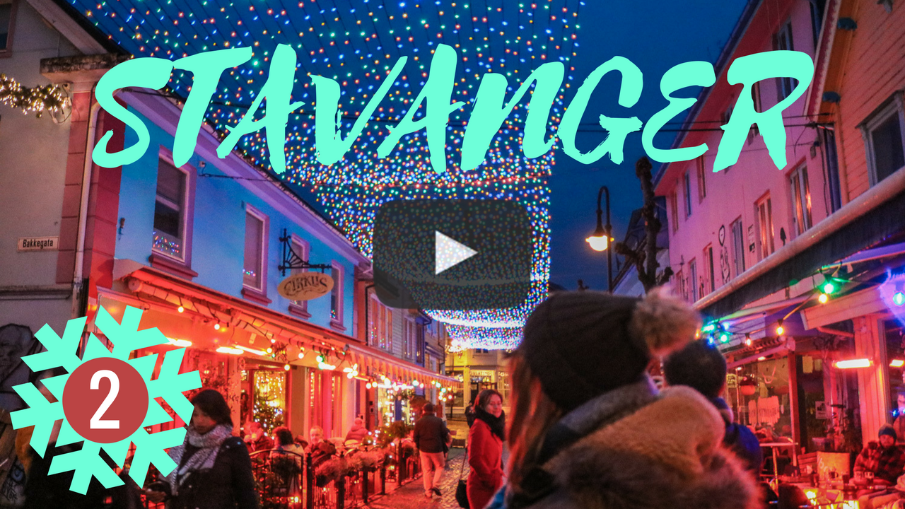 Follow me around Christmassy Stavanger on my YouTube channel here