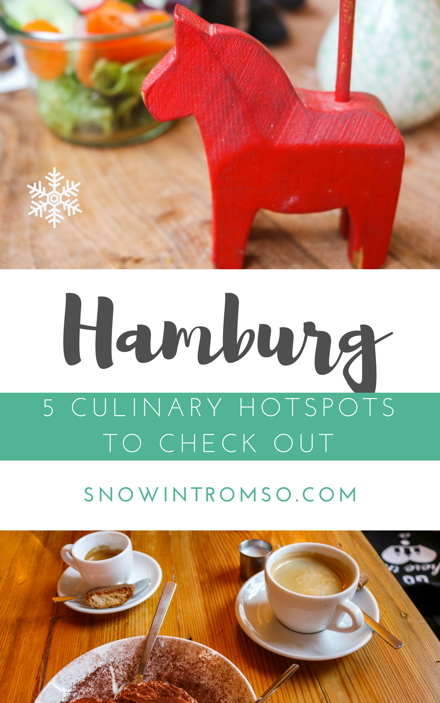 Are you headed to Hamburg and search for places to eat and drink at? Click through to find 5 culinary hotspots you should totally check out!