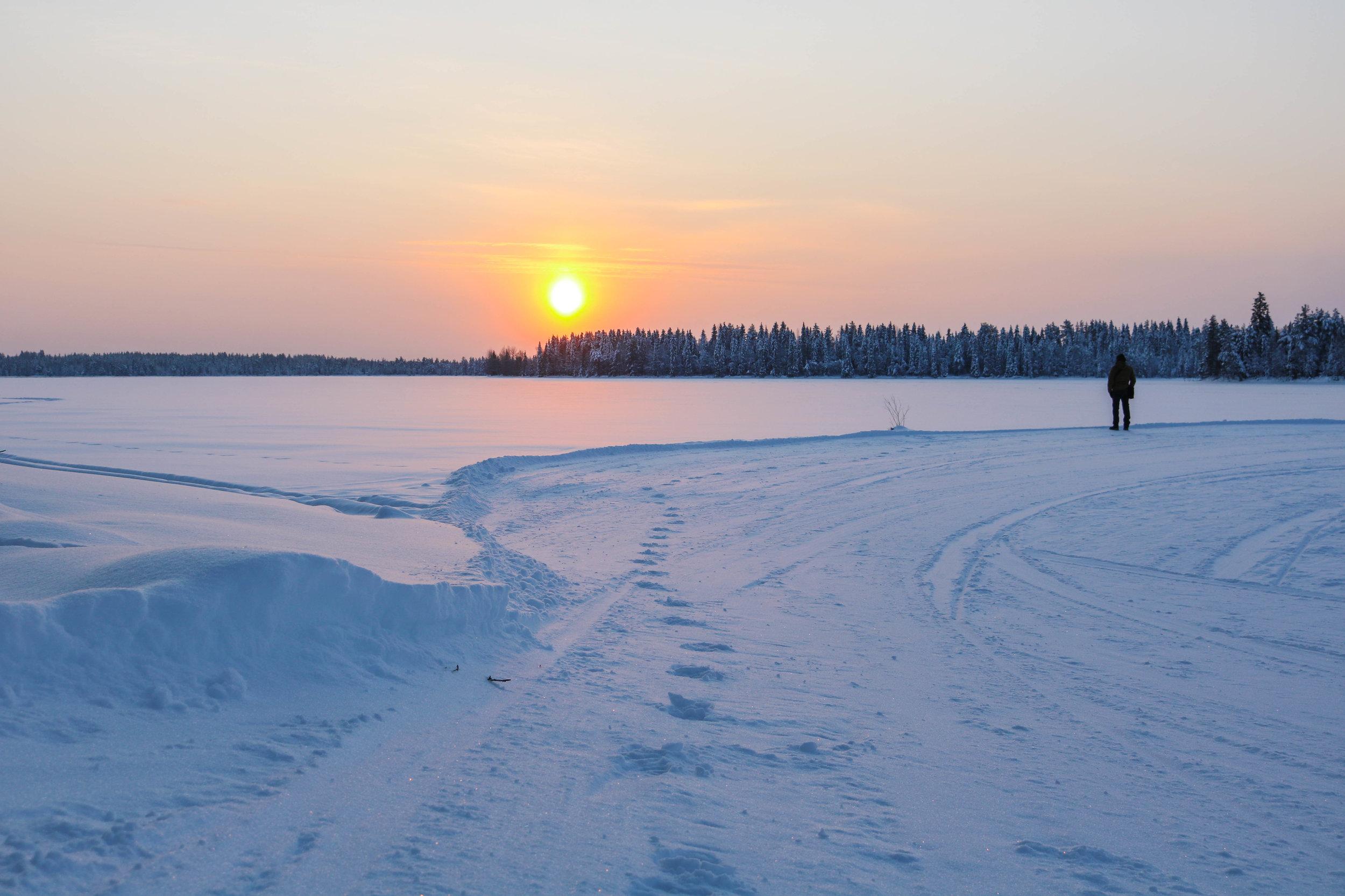 winter finnish lapland visit ruka kuusamo