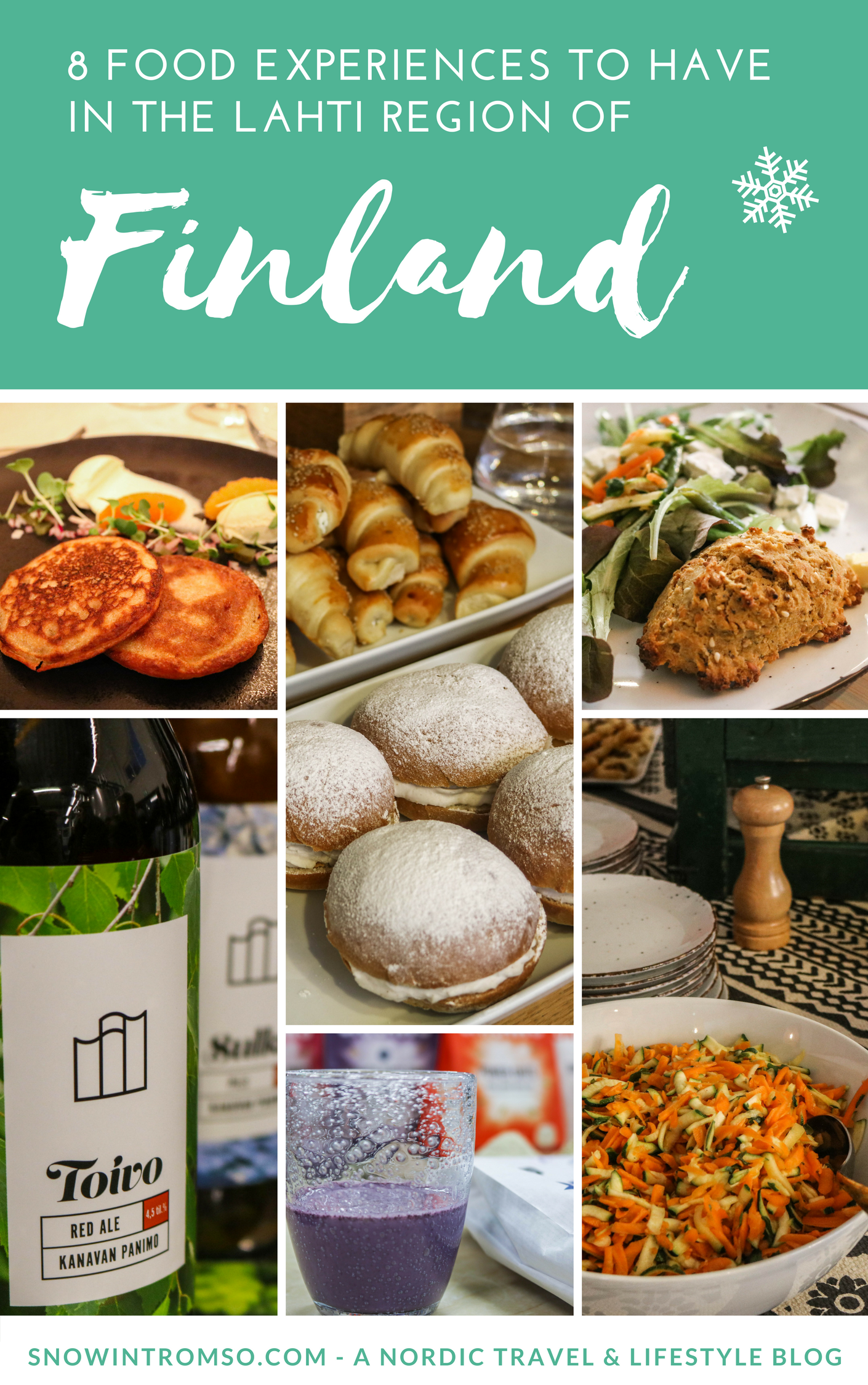 Considering a trip to Finland? Click through to read about 8 foodie experiences you NEED to have in Lahti!