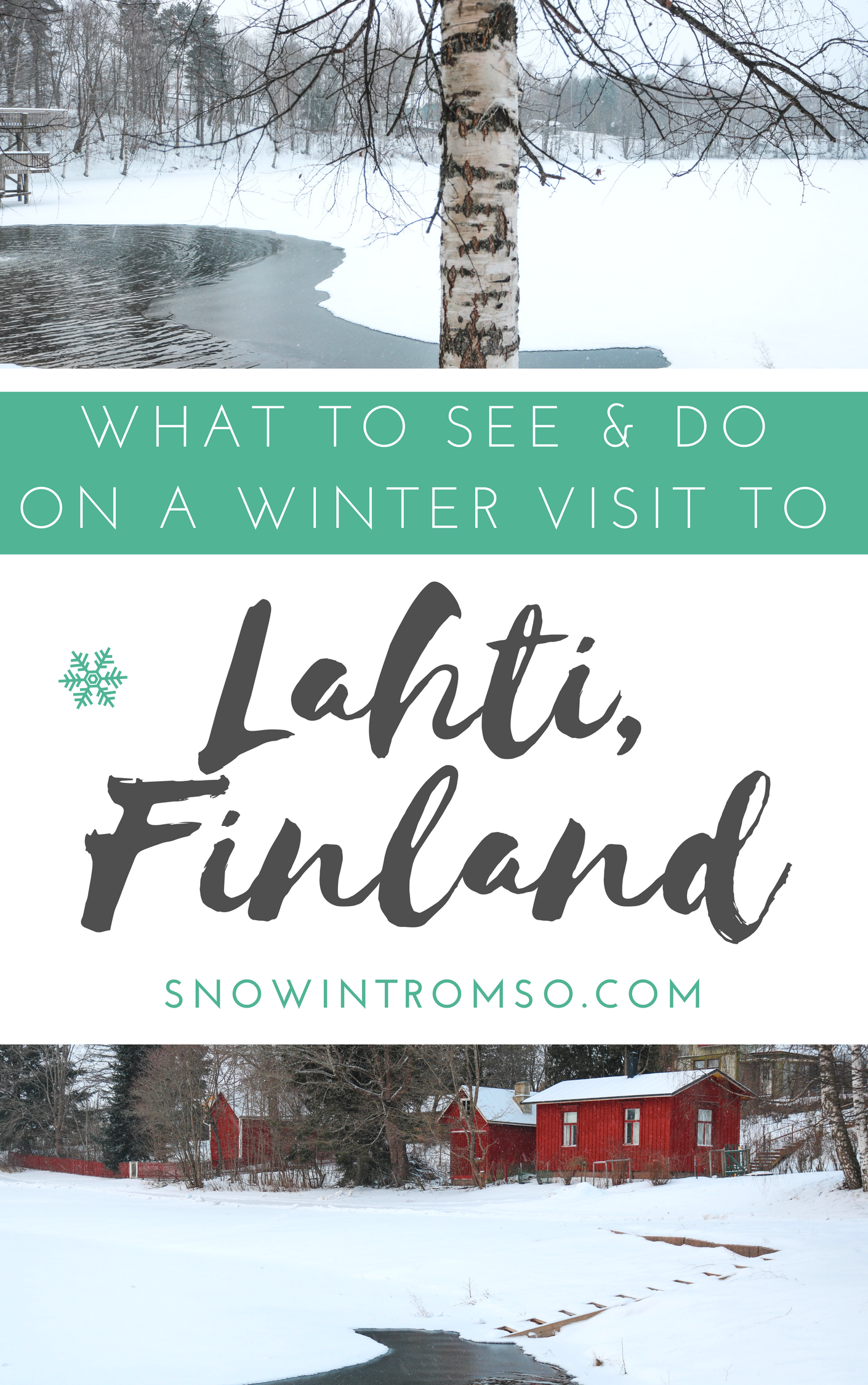Considering a winter visit to Lahti? Here are 12 things you should see and do while you're there!