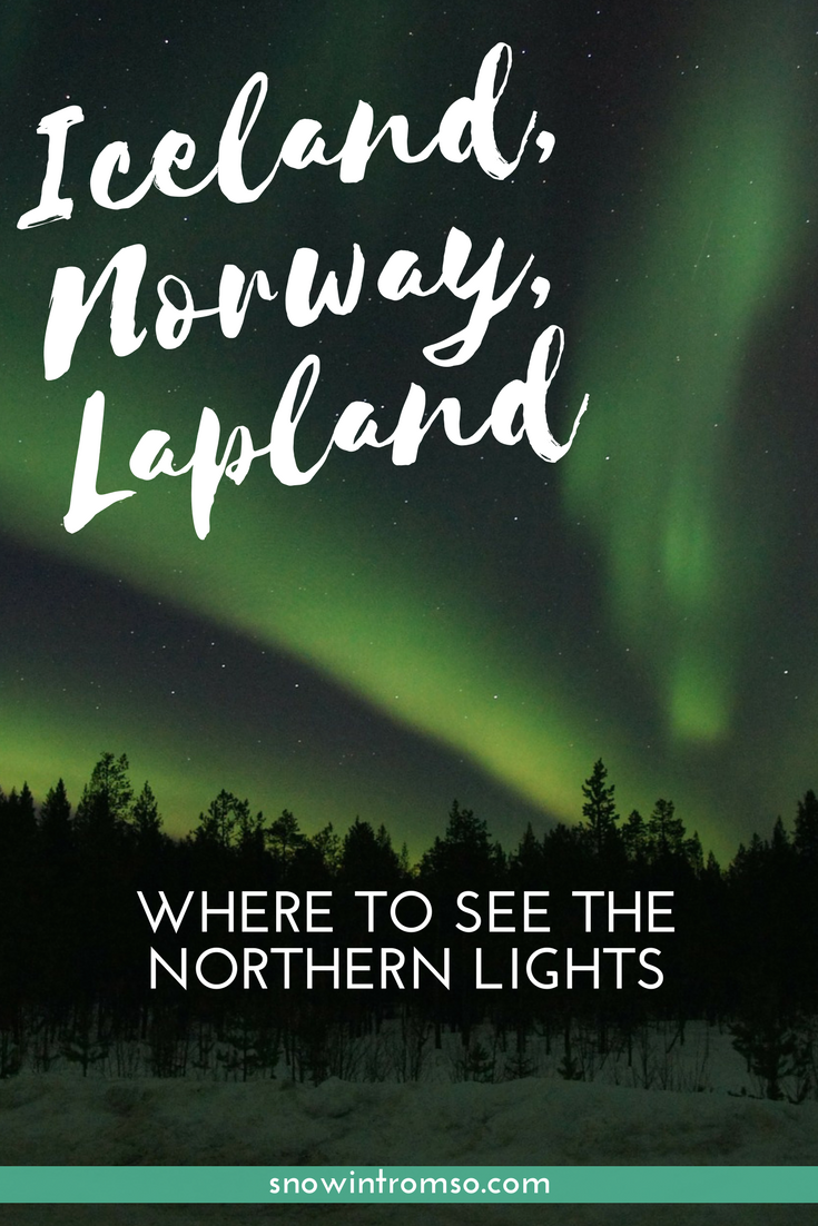 """Are the Northern Lights on your bucket list? Here's a secret: There is no """"best place"""" to see them. @snowintromso explains why!"""