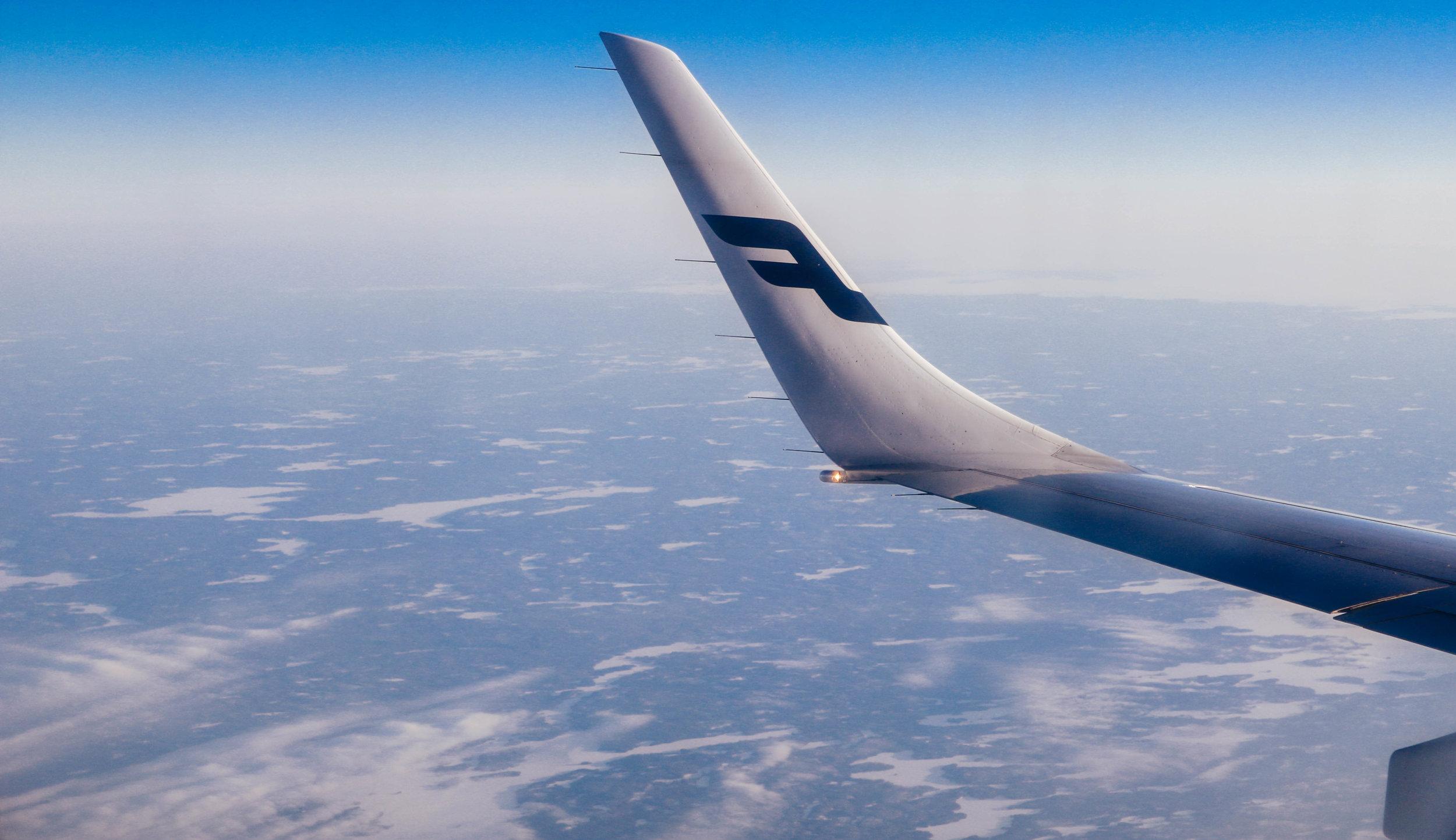 finnair flight helsinki kuusamo