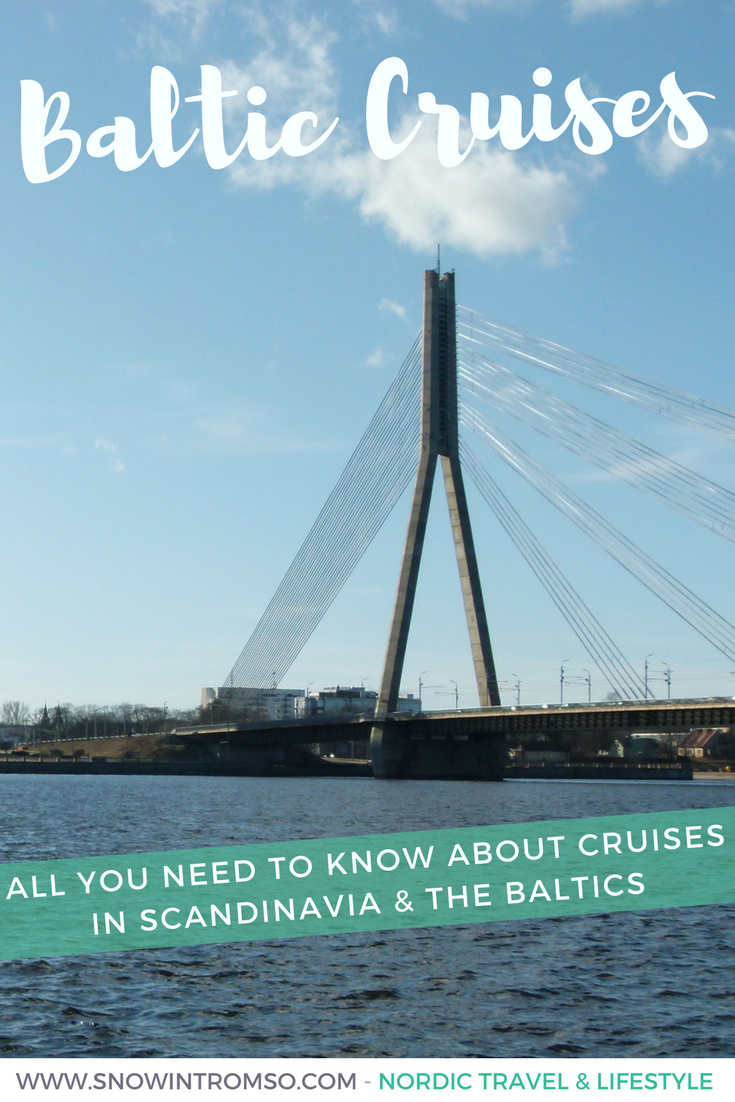 Are you considering visiting Scandinavia and the Baltics? Let me tell you about the scenic way to get around!