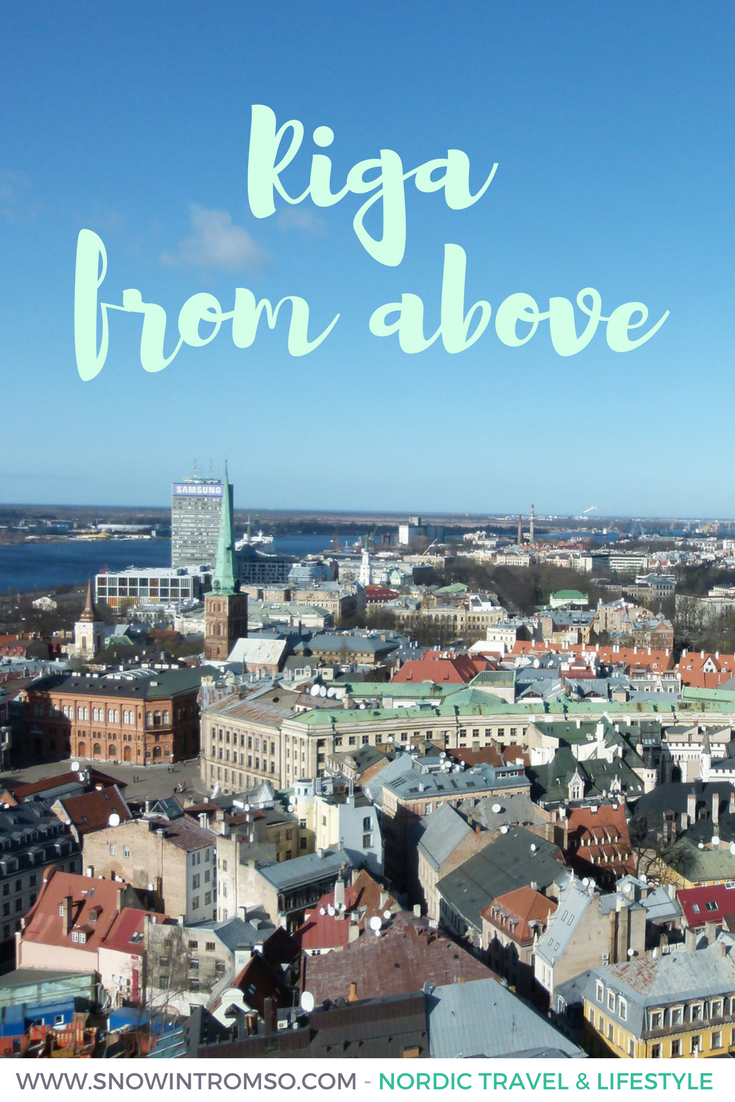 Click through to see Riga from above in this photo essay!
