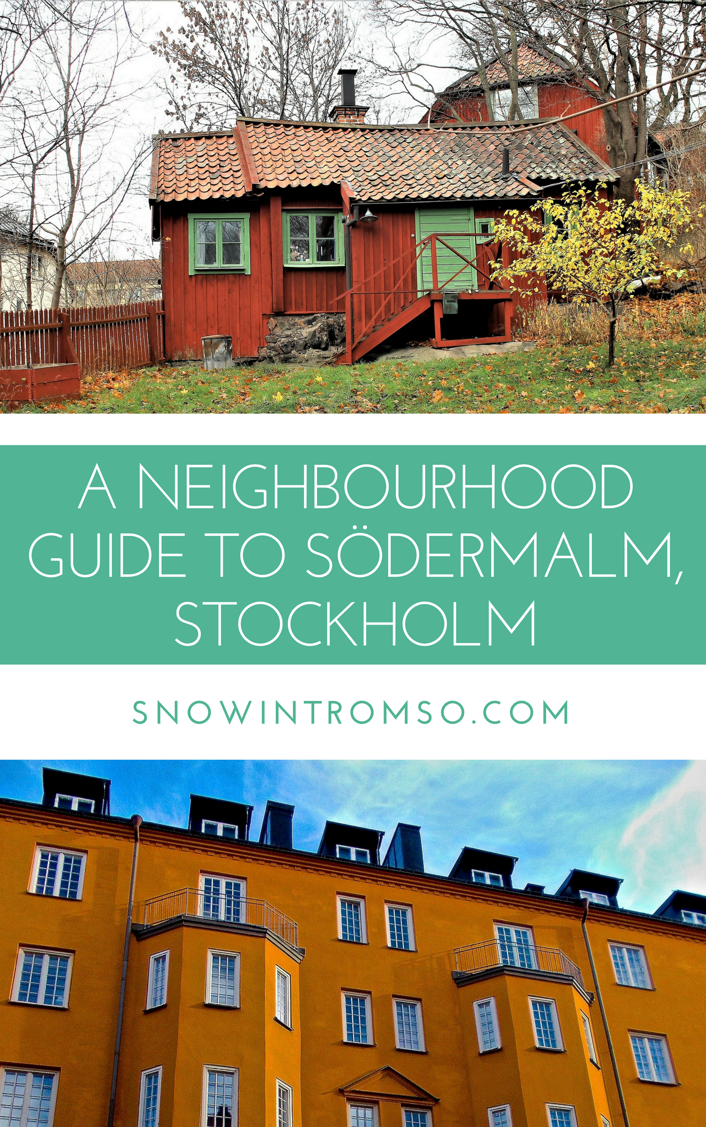 Click through to learn more about Stockholm's hippest neighbourhood Södermalm!