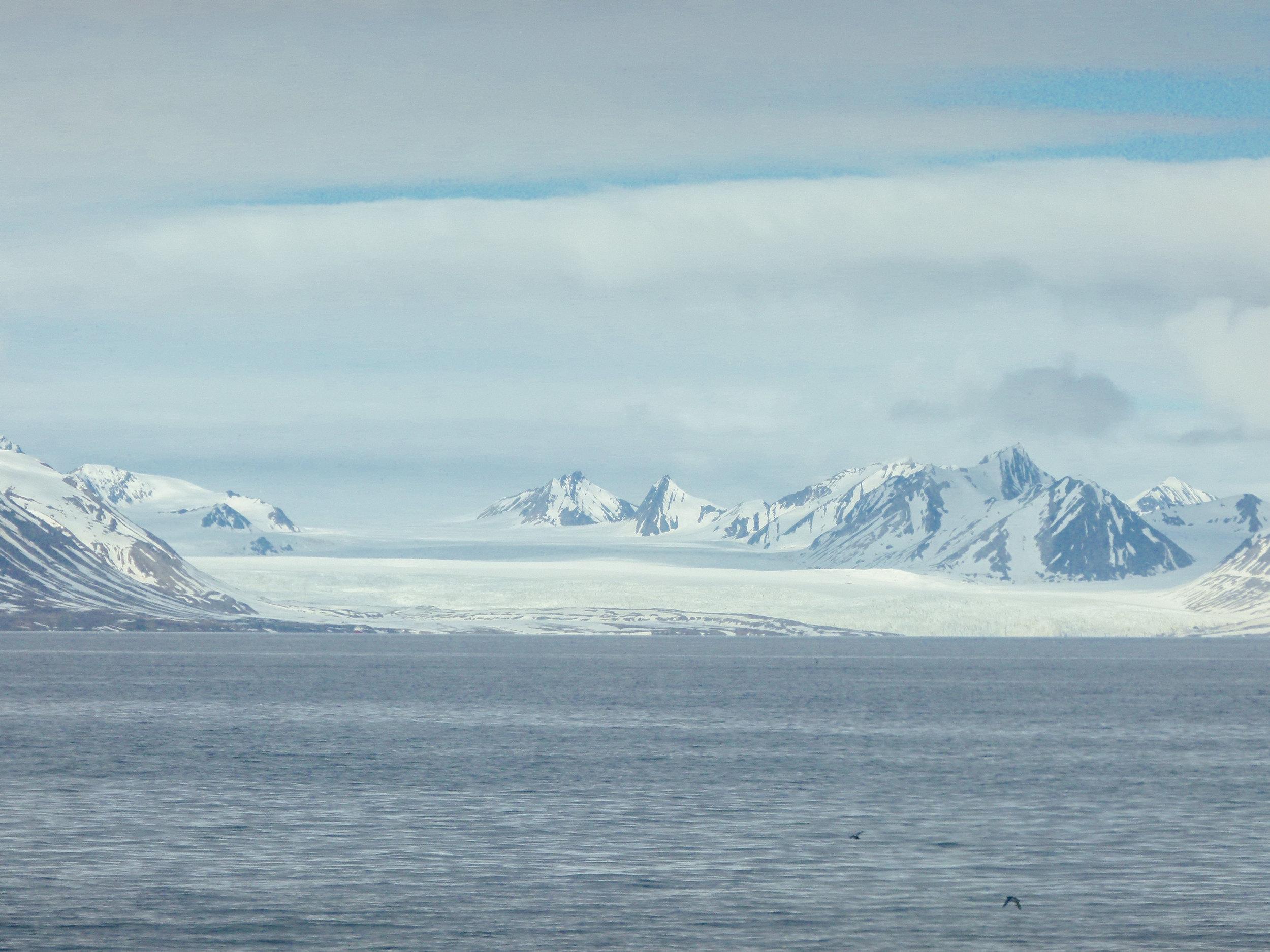 glacier tour svalbard