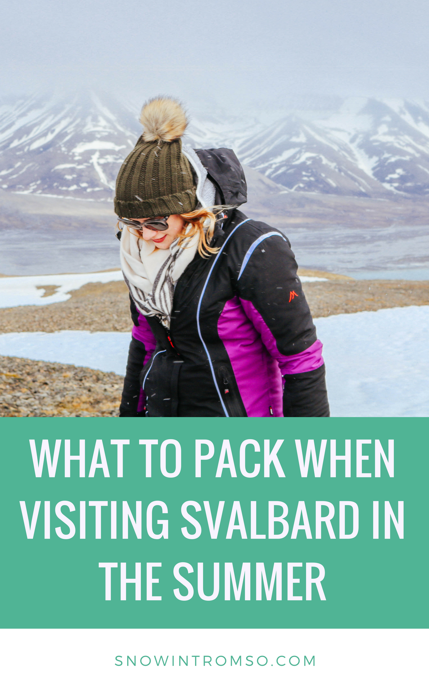 I made a list of all the things I really ended up needing in the High Arctic and will also tell you why you can leave your down jacket at home, in this article! Click through to read!