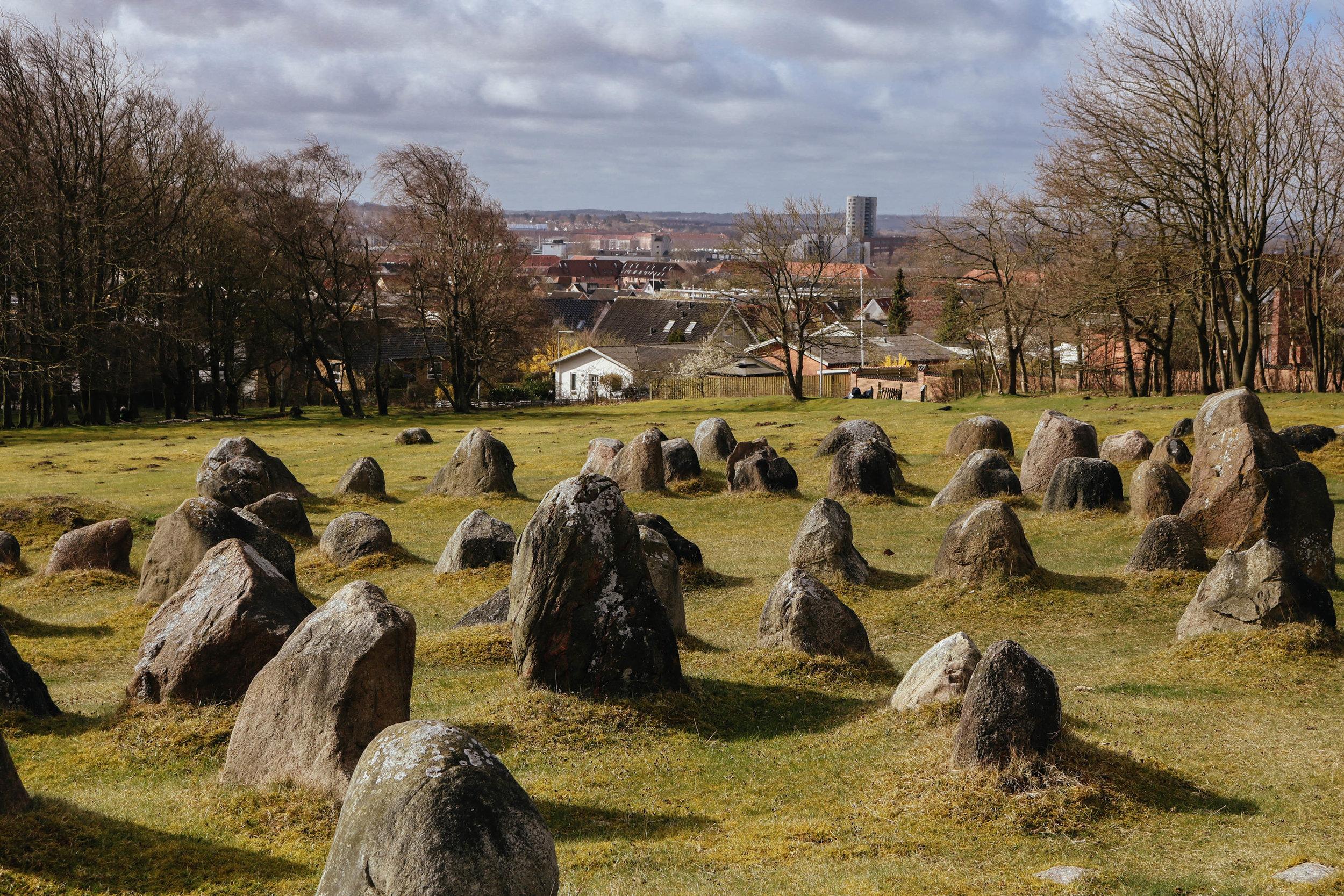 lindholm høje burial mounds aalborg