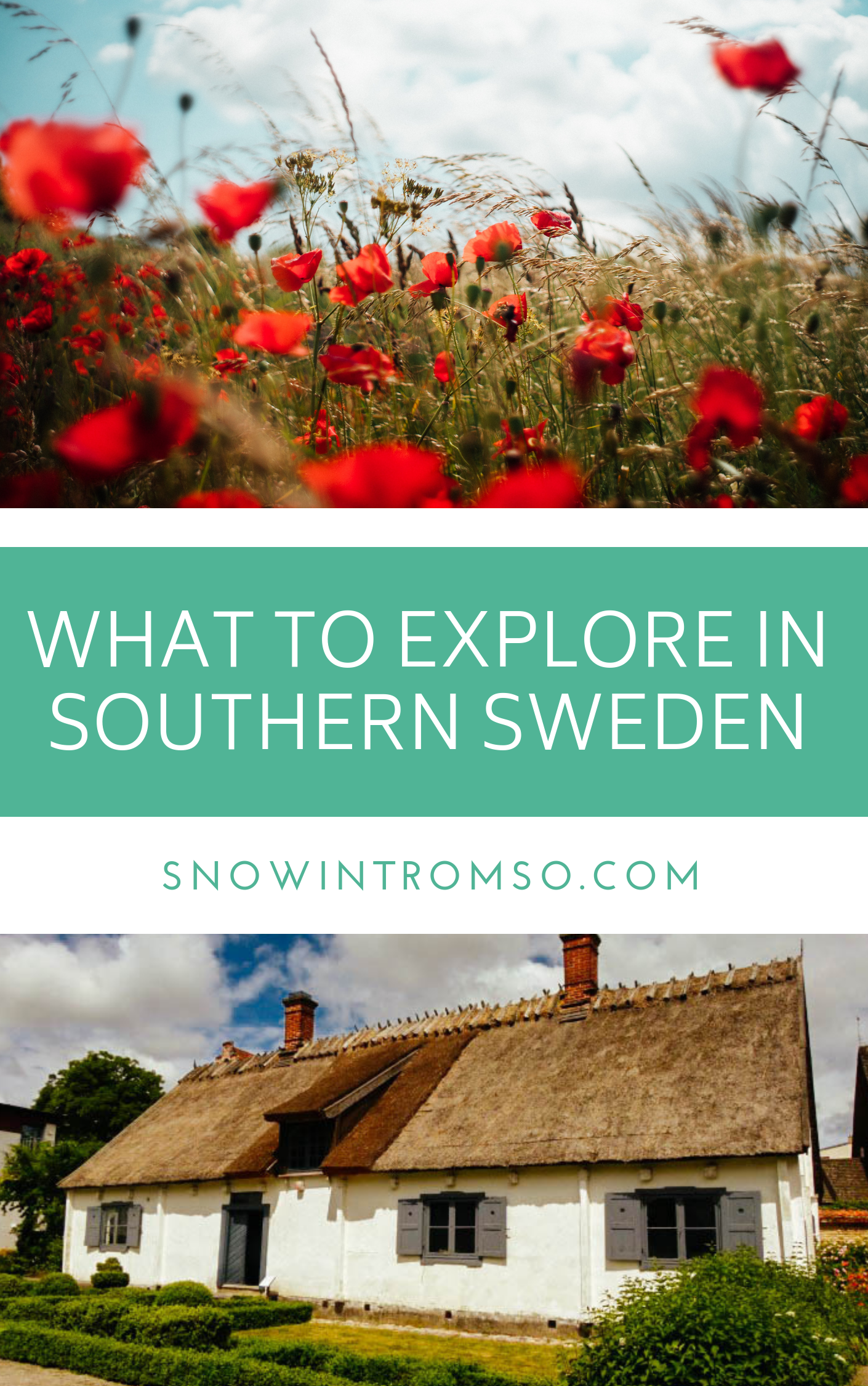 Thinking about a summer visit to Southern Sweden? Here's what you should do and explore once you're there!