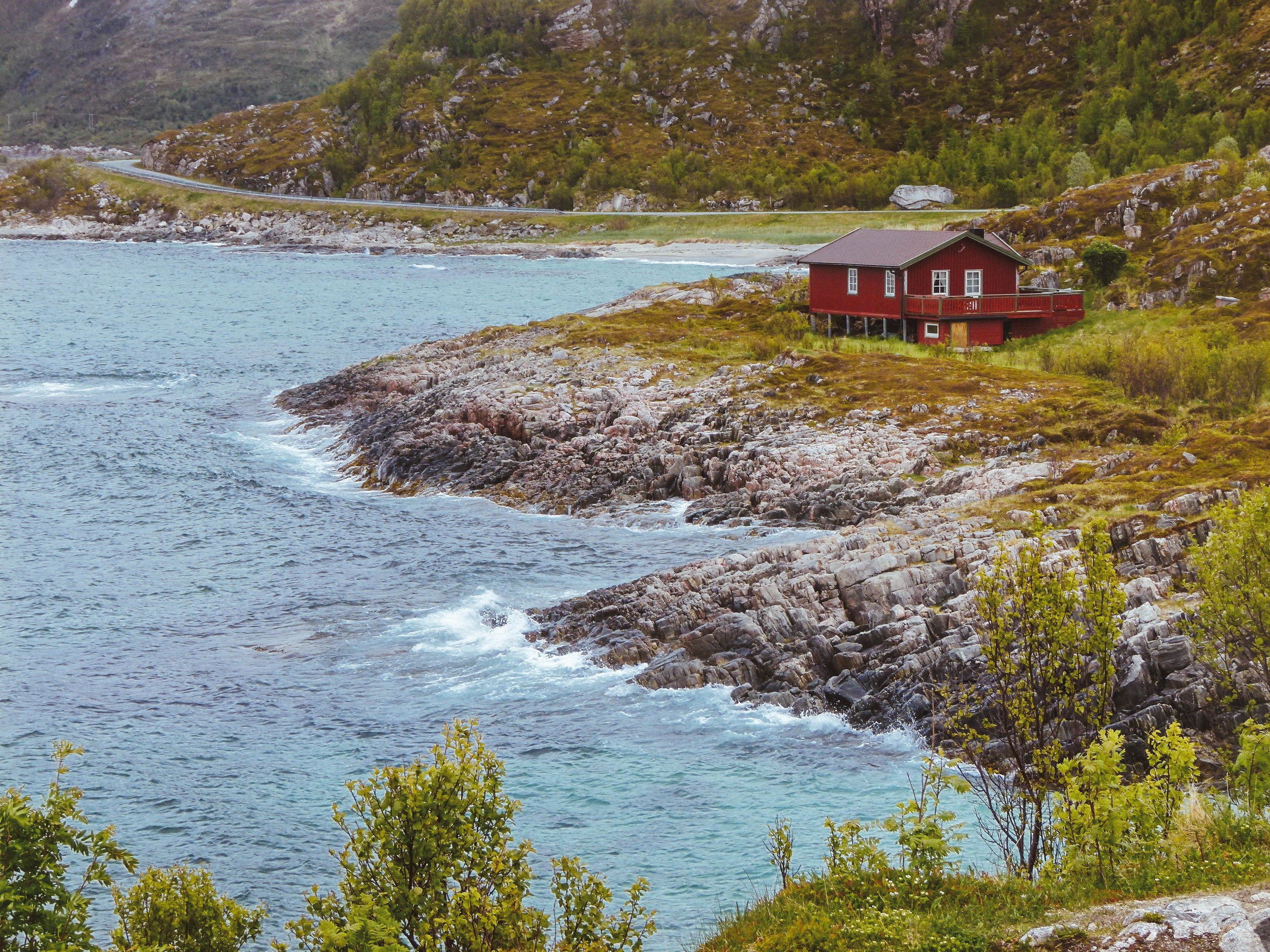 The road to Sommarøya