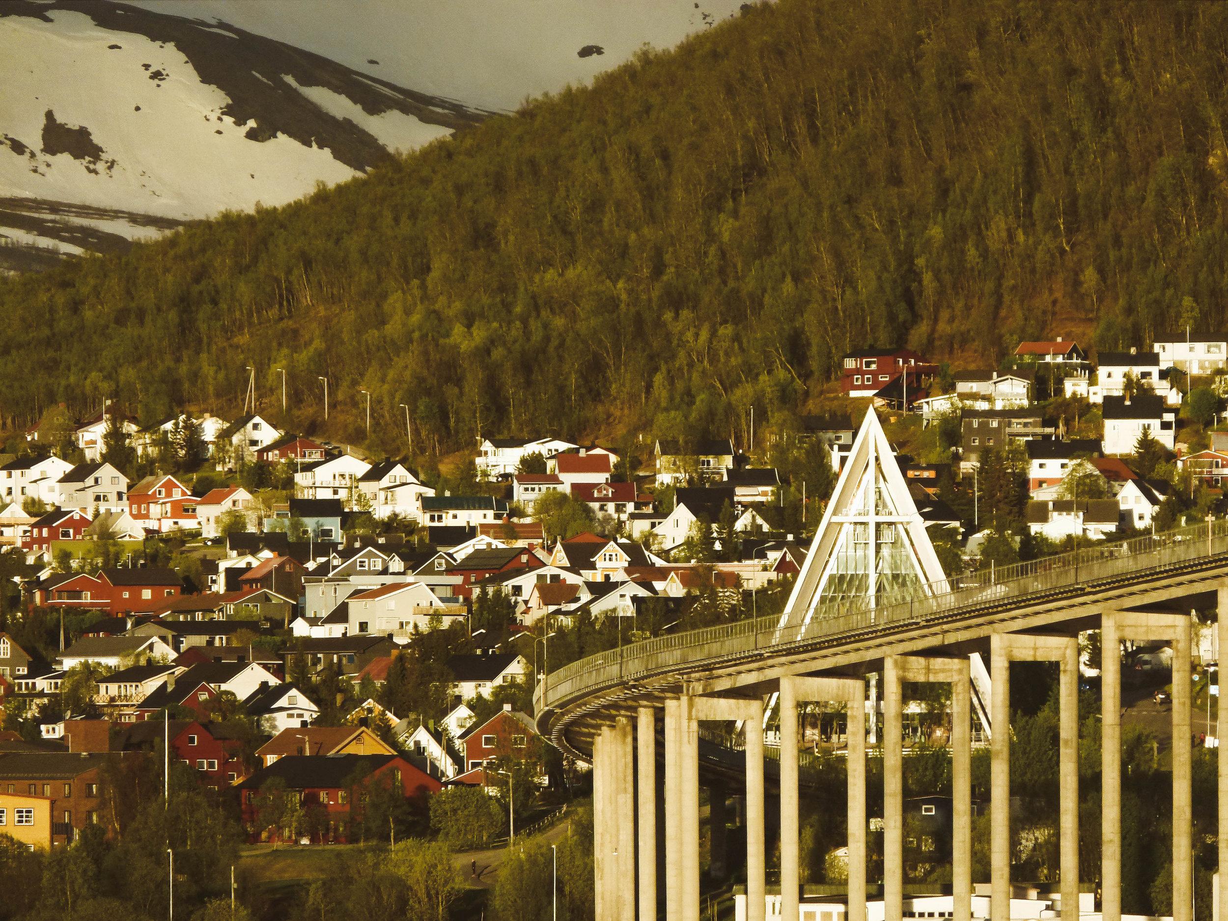 Tromsø Bridge and Arctic Cathedral