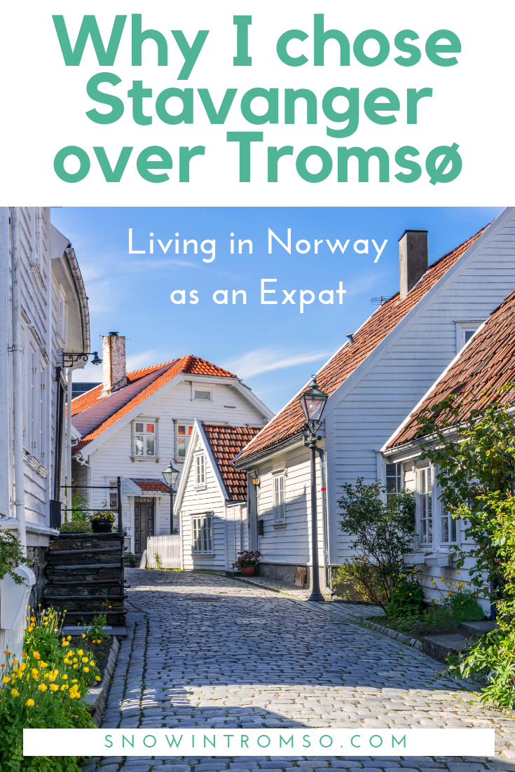Living in Norway as an Expat - Why I left Tromsø and moved to Stavanger