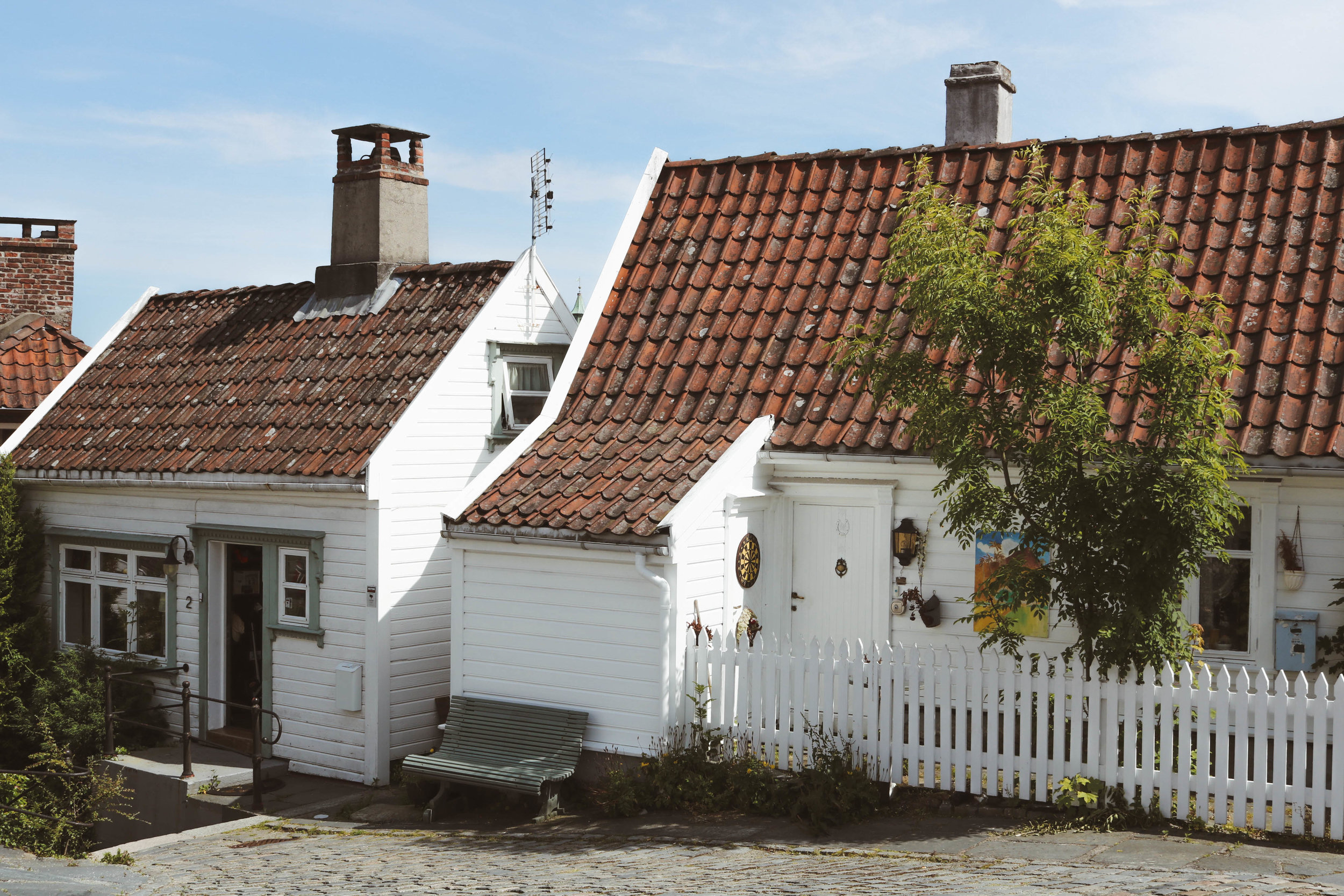 Stavanger's gorgeous old town