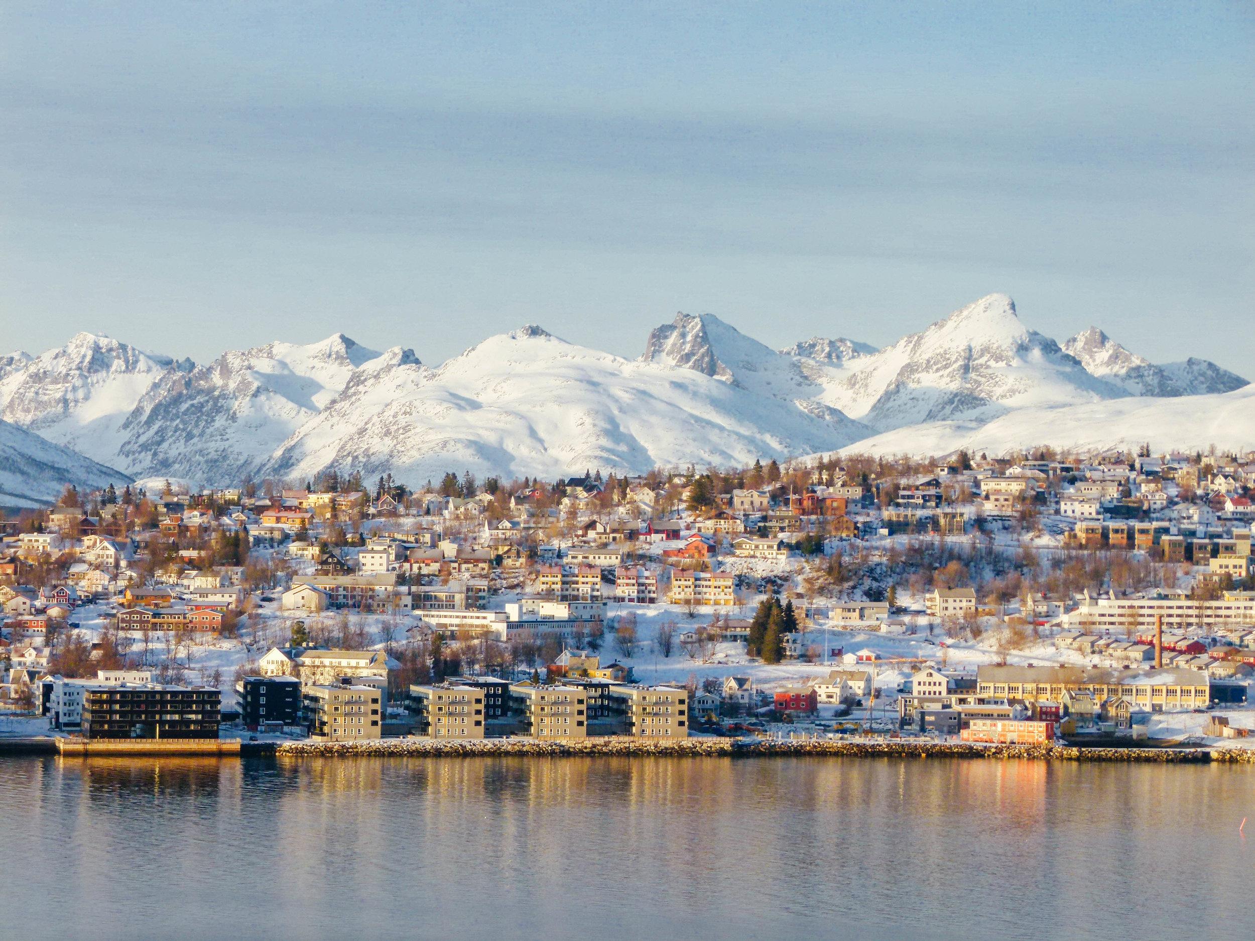 Tromsø in late winter