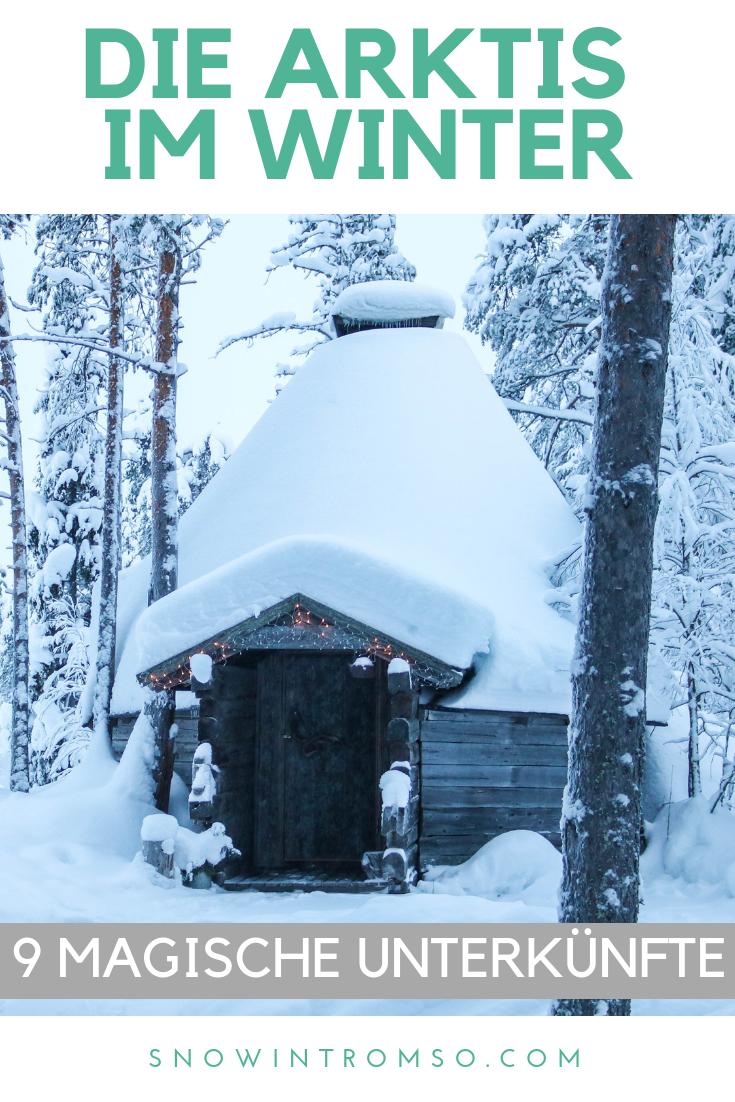 Denkst Du über eine Reise in die Arktis im Winter nach? Dann lies Dir diesen Artikel durch, um zu entscheiden, wo Du am Besten übernachten solltest!
