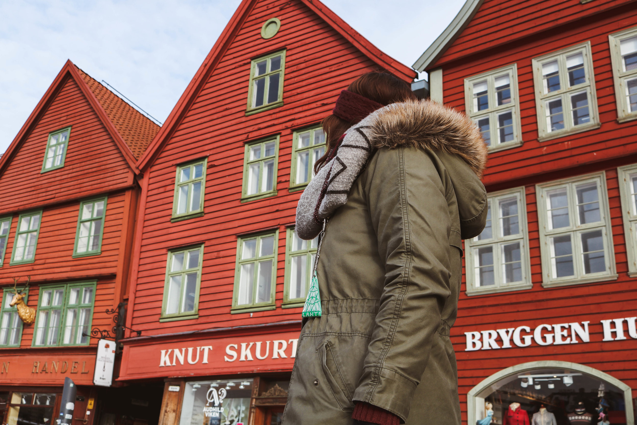 My H&M parka was absolutely sufficient to explore Bergen in February…