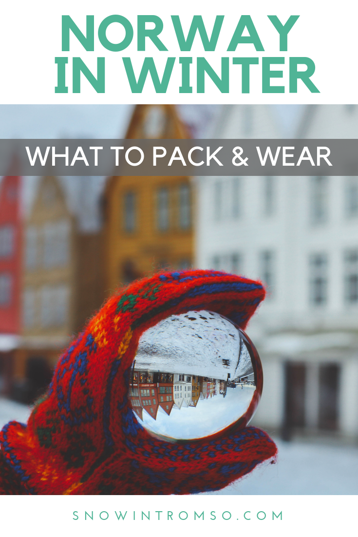 Considering a visit to Norway in winter? Click through to find out what you should pack to stay warm but still look cute!