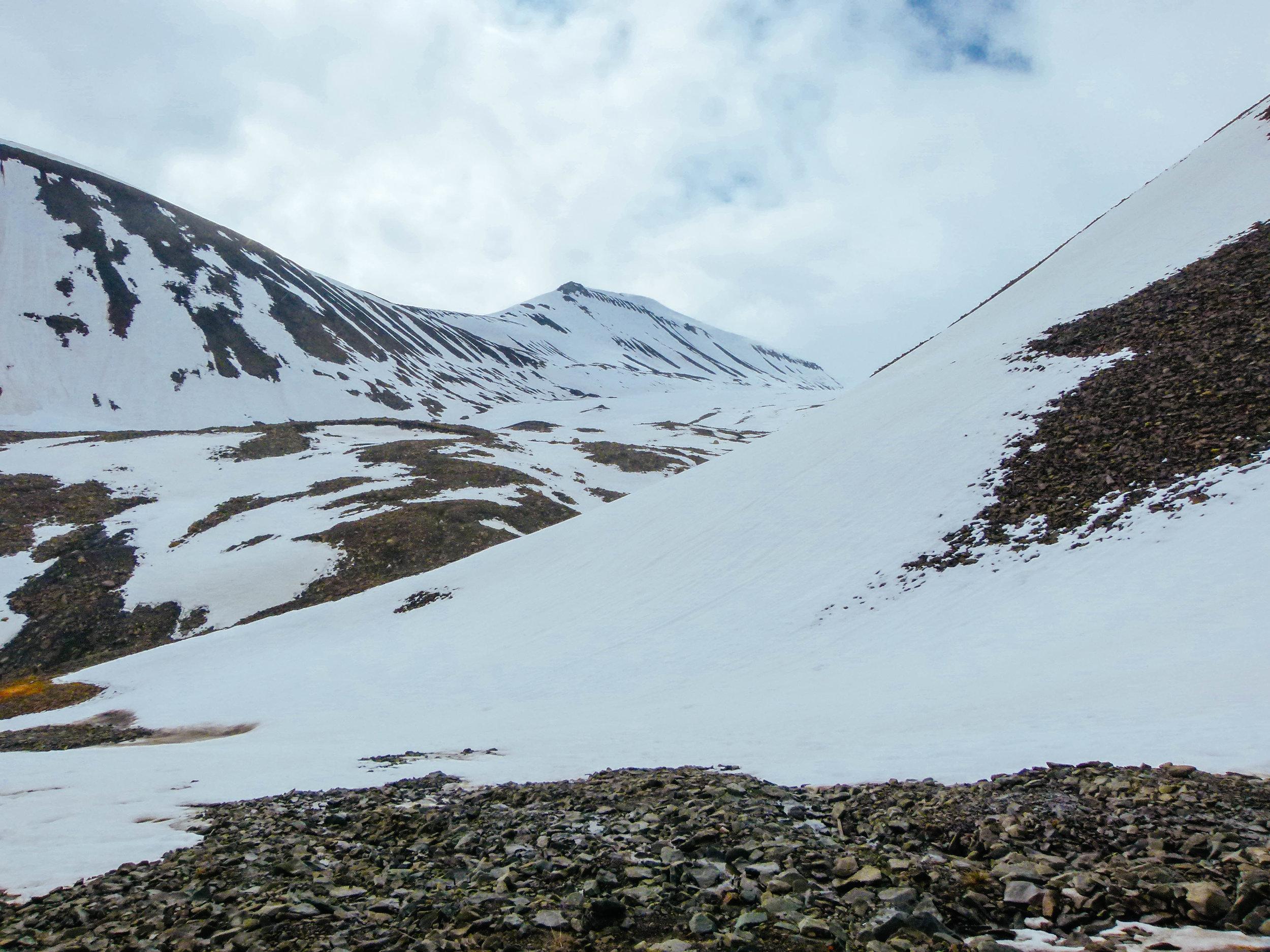 arctic glaciers svalbard