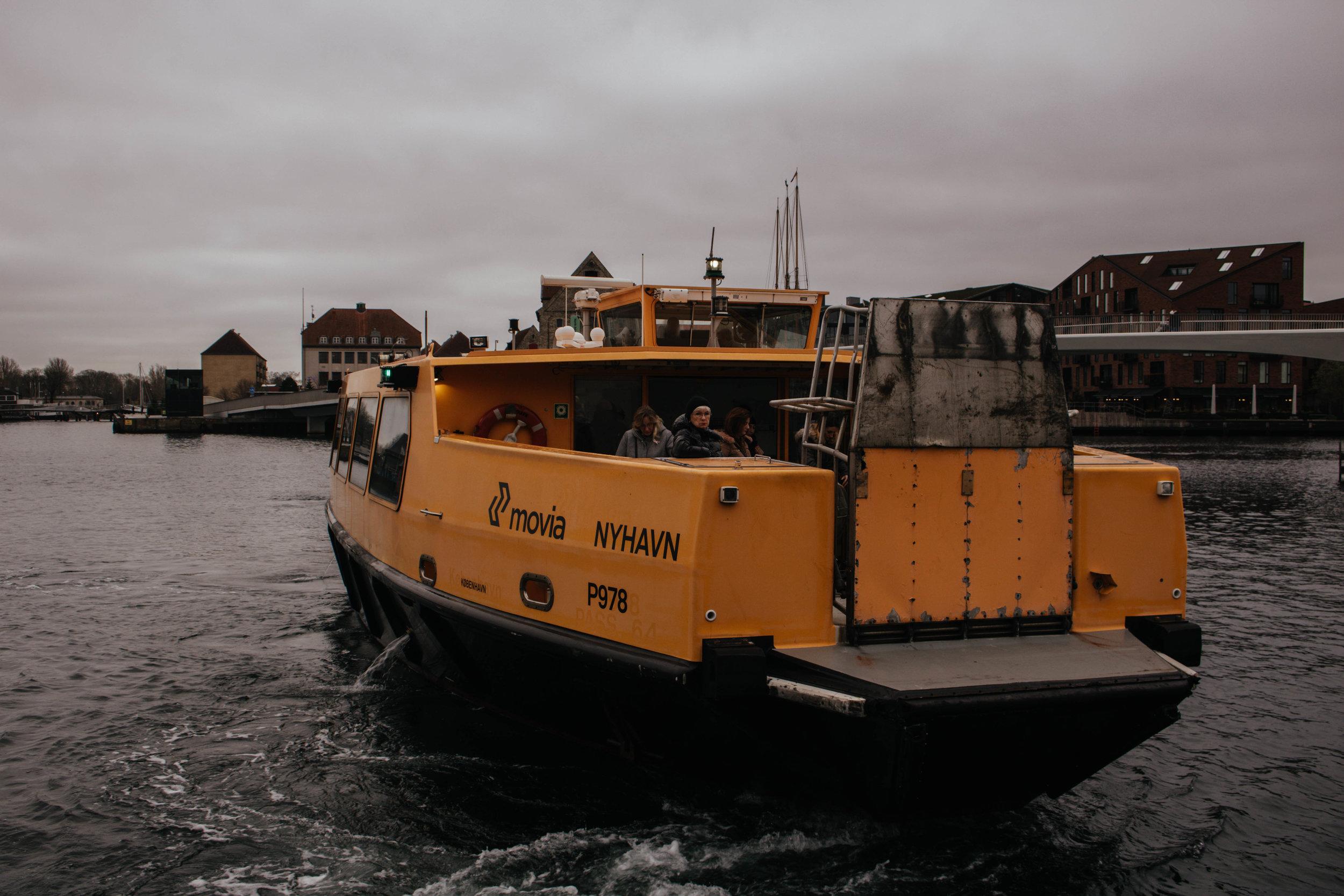 copenhagen harbour bus information