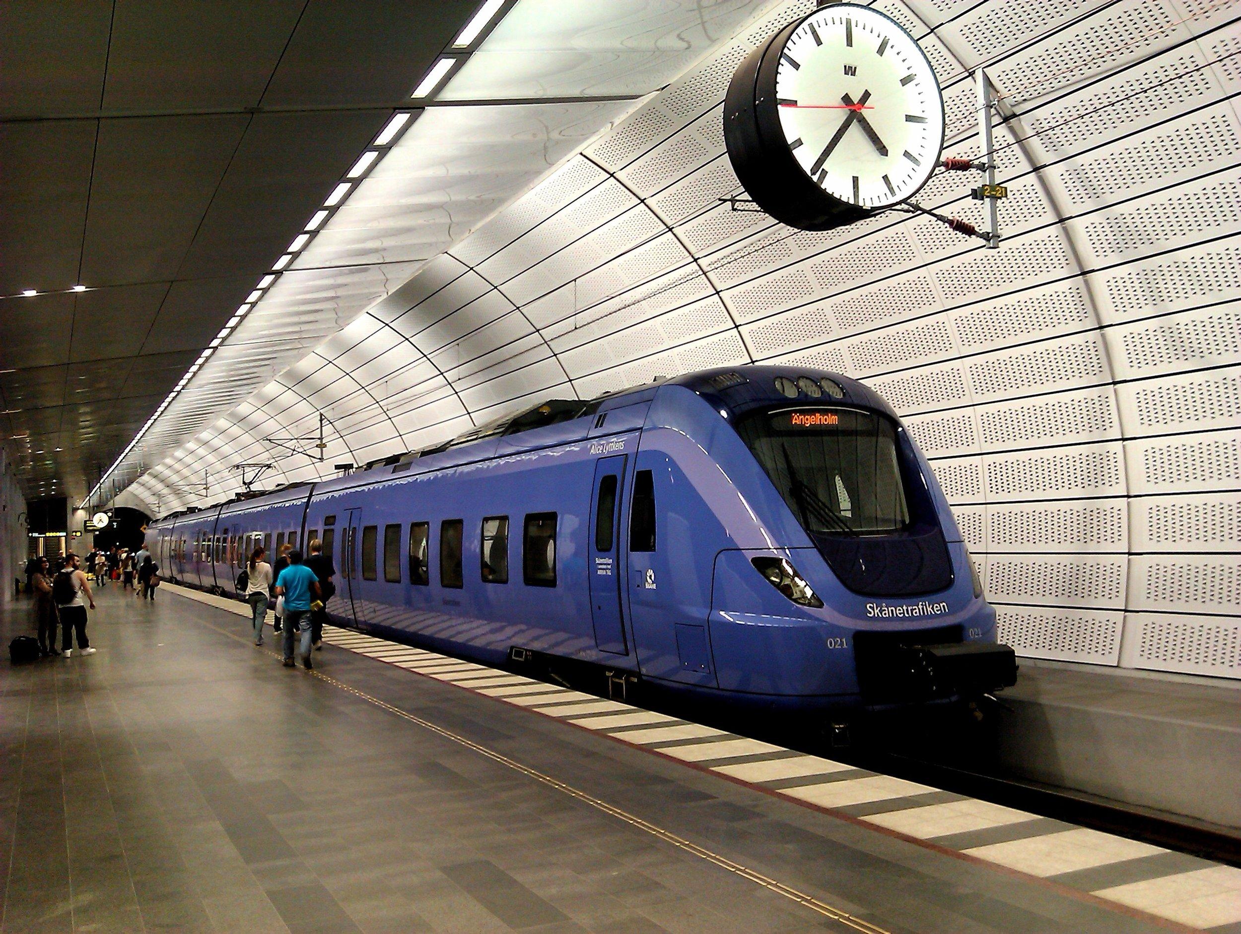 explore sweden by train interrail
