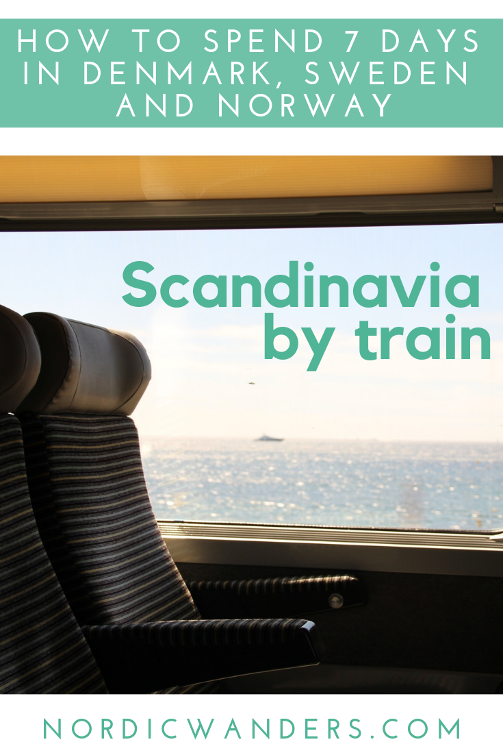 Are you thinking about heading to Scandinavia this summer but don't want to rent a car? The region is super easy to explore by train! Read more by clicking through to the article!