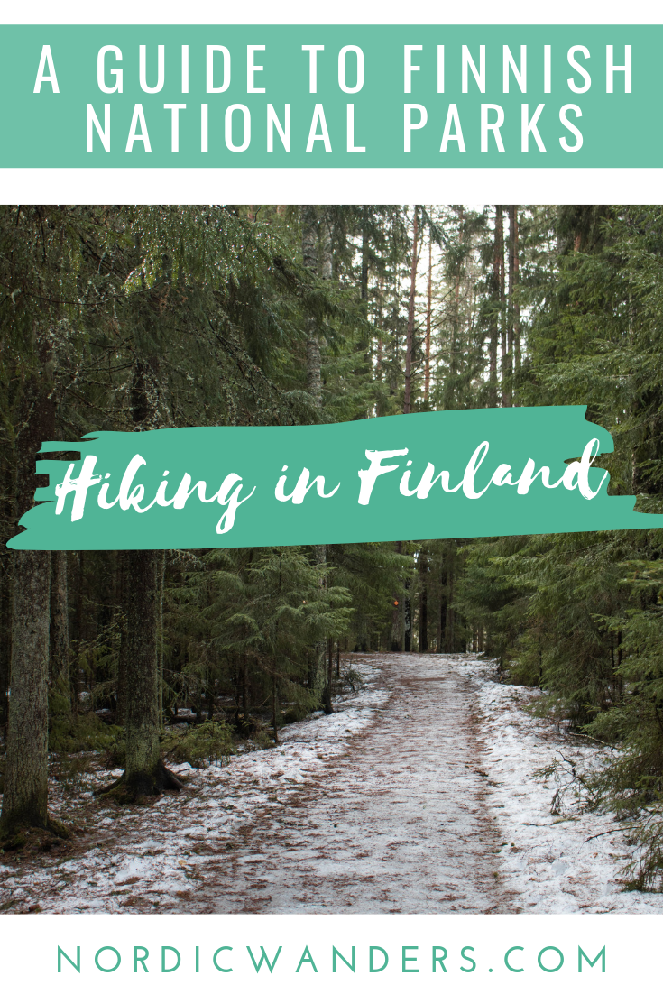 Hiking in Finland - A Guide to Finland's National Parks. Click through to read!