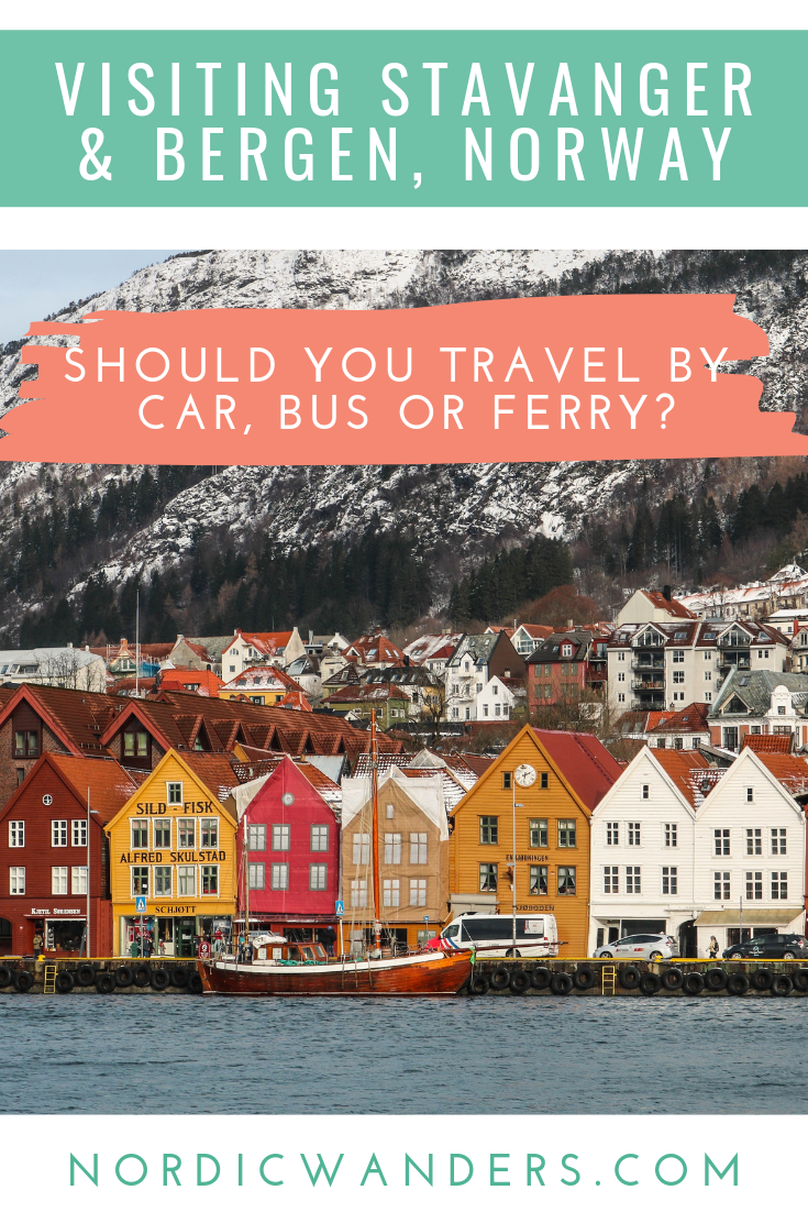Click through for a detailed overview of all ways you can drive from Stavanger to Bergen - whether you prefer to drive yourself or use public transport.