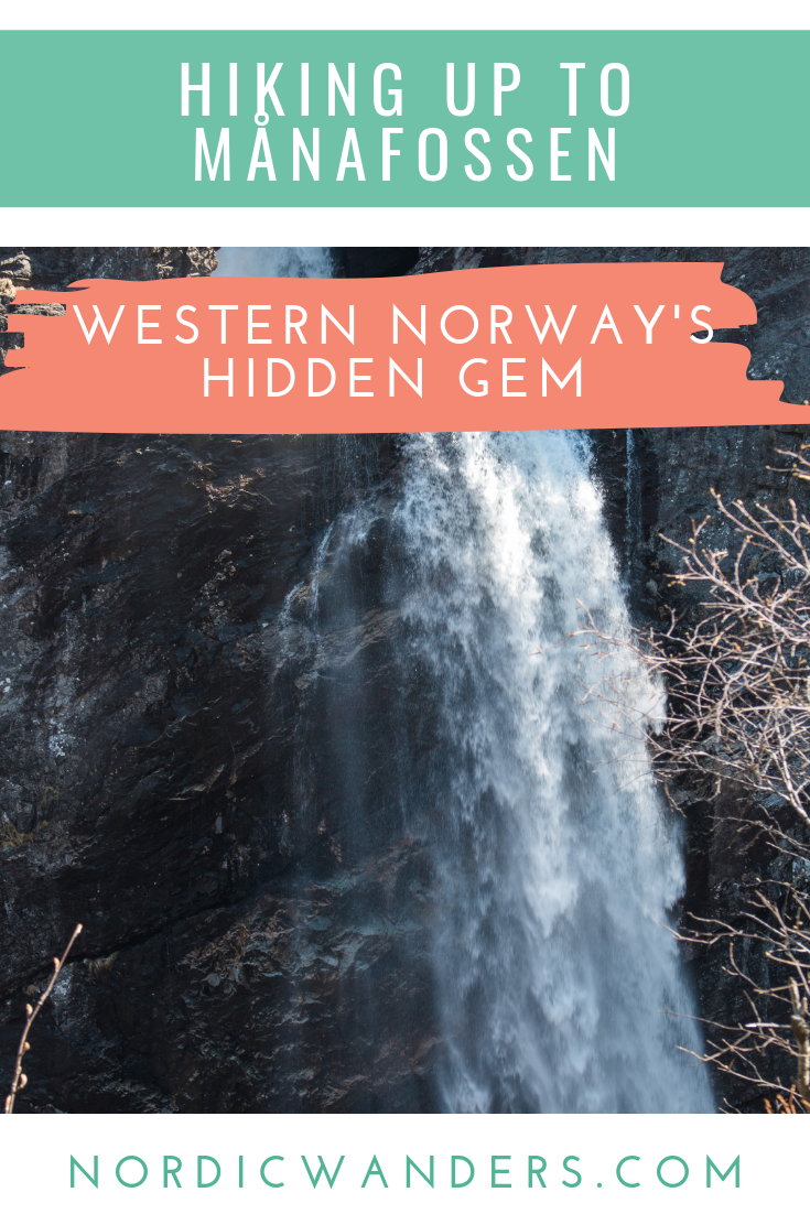 Click through for the complete guide with everything you need to know to embark on the hike to Månafossen Waterfall yourself!