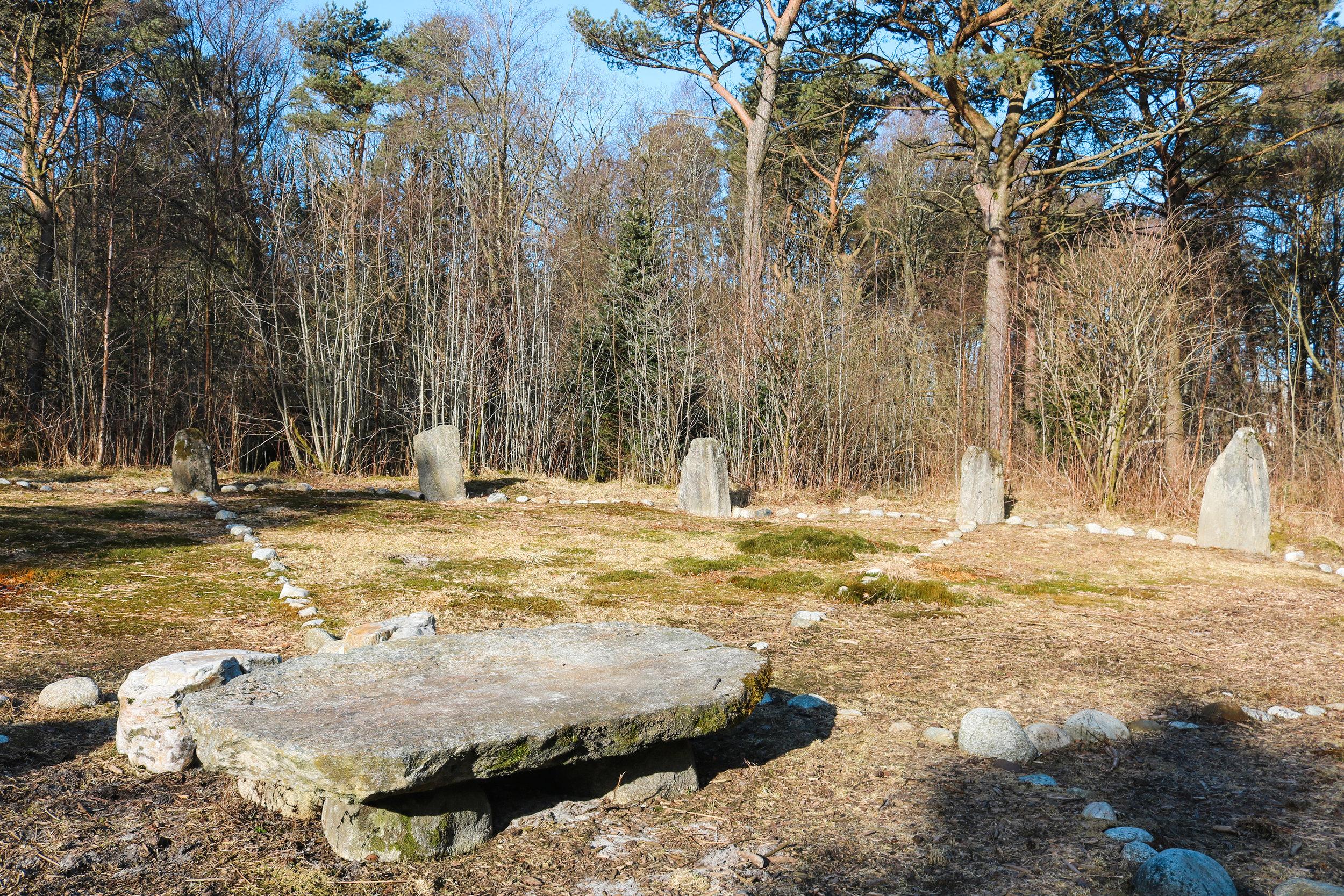 domsteinane stone circle sola stavanger norway