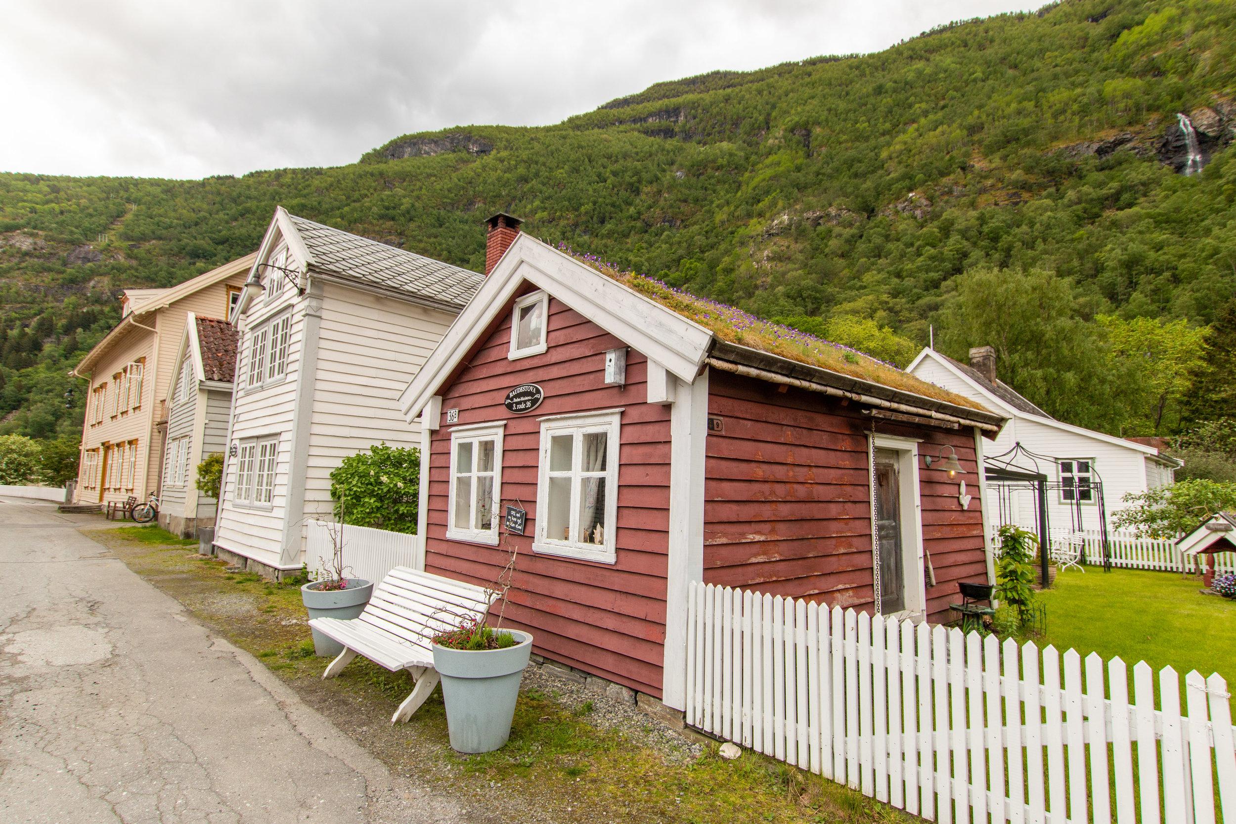 Gamle Lærdalsøyri Altstadt Lærdal.jpg