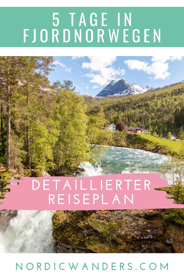 Planst du eine Reise nach Fjordnorwegen? Hier findest du einen detaillierten Bericht einer 5-tägigen Reise mit Hurtigruten und Mietwagen